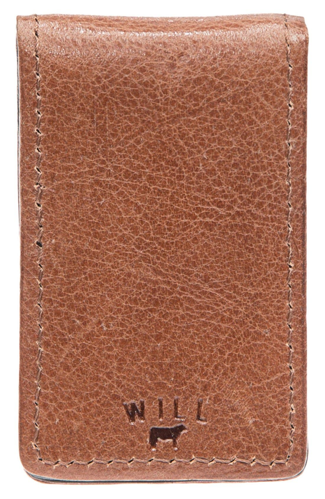 Alternate Image 2  - Will Leather Goods 'Cibreo' Money Clip