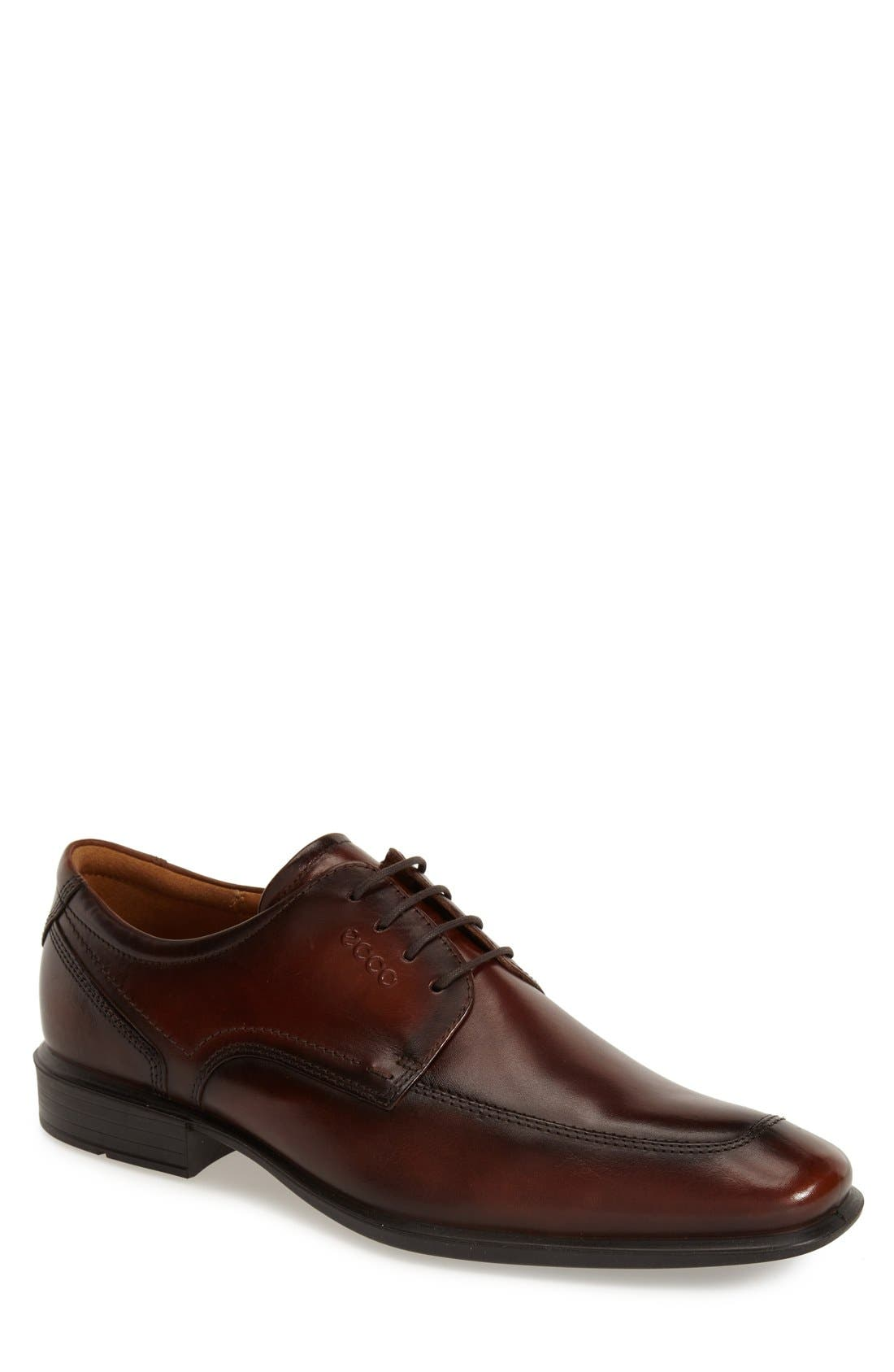 ECCO 'Cairo' Apron Toe Derby (Men)