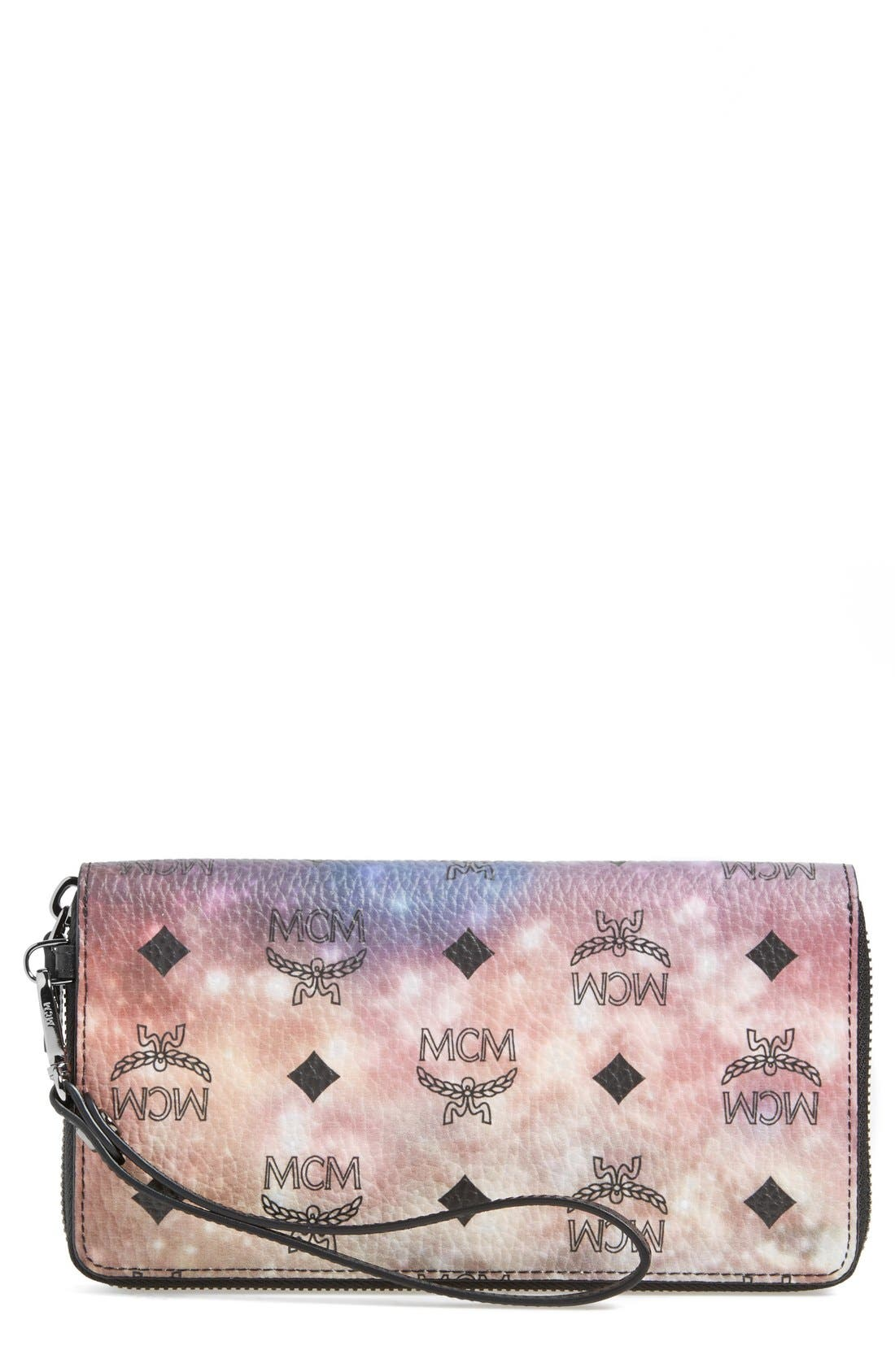 Alternate Image 1 Selected - MCM 'Large Galaxy Series' Zip Wallet