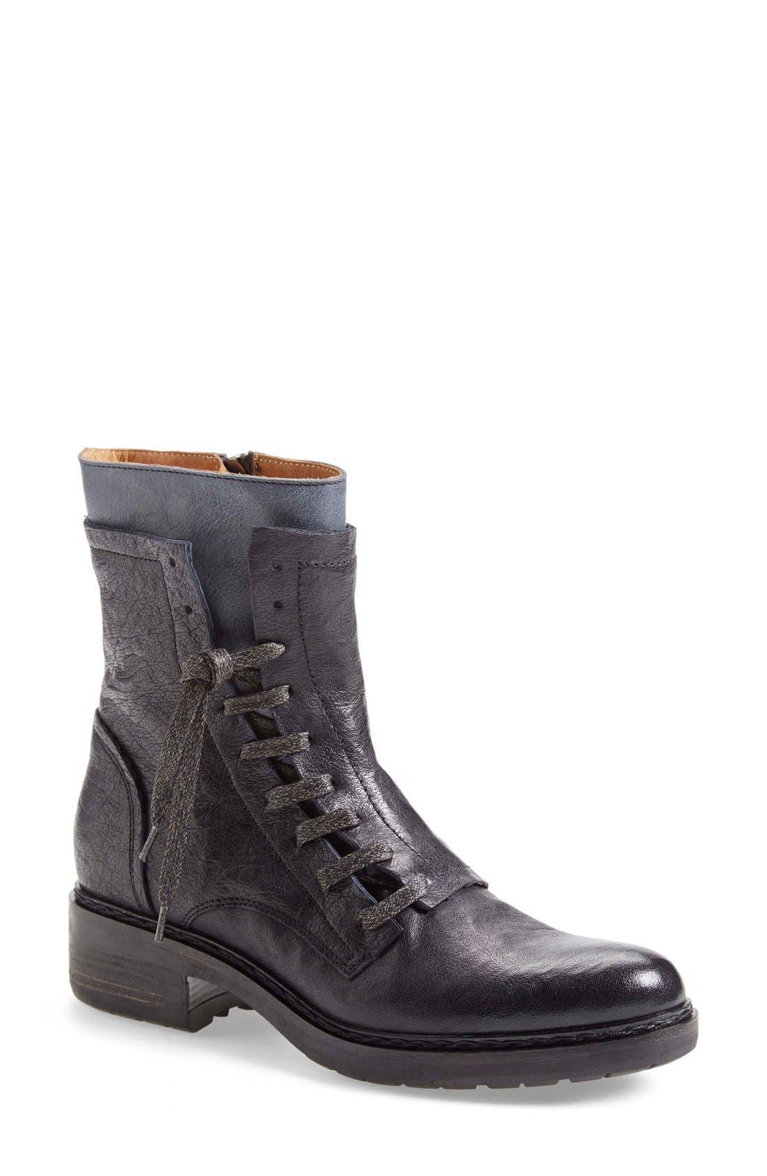 Alternate Image 1 Selected - Alberto Fermani 'Freya' Lace-Up Combat Boot (Women)