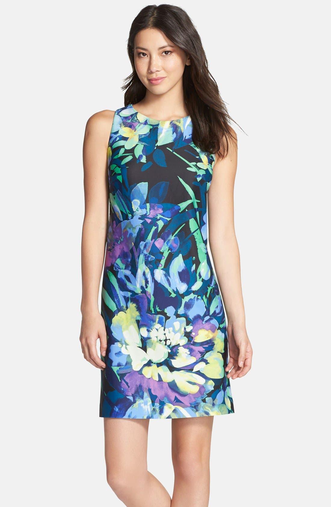 Alternate Image 1 Selected - Vince Camuto Print Sheath Dress