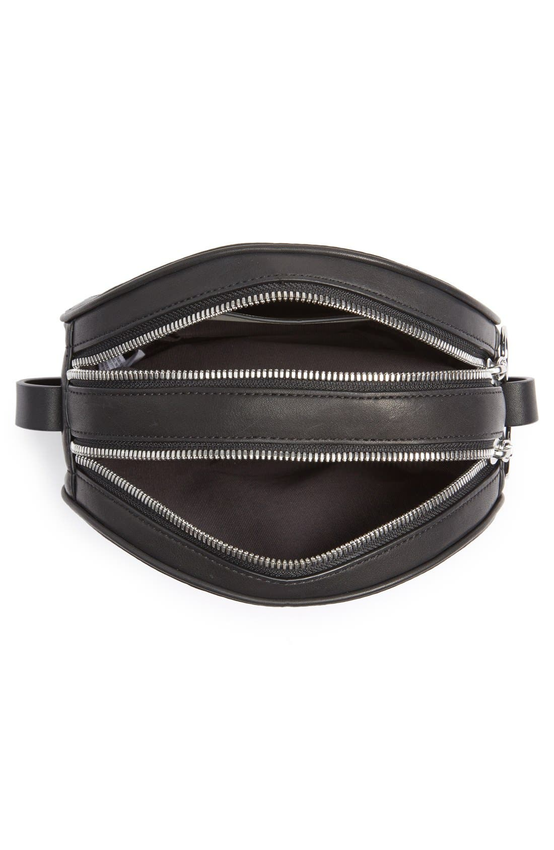 Alternate Image 4  - rag & bone 'Circle' Leather Crossbody Bag