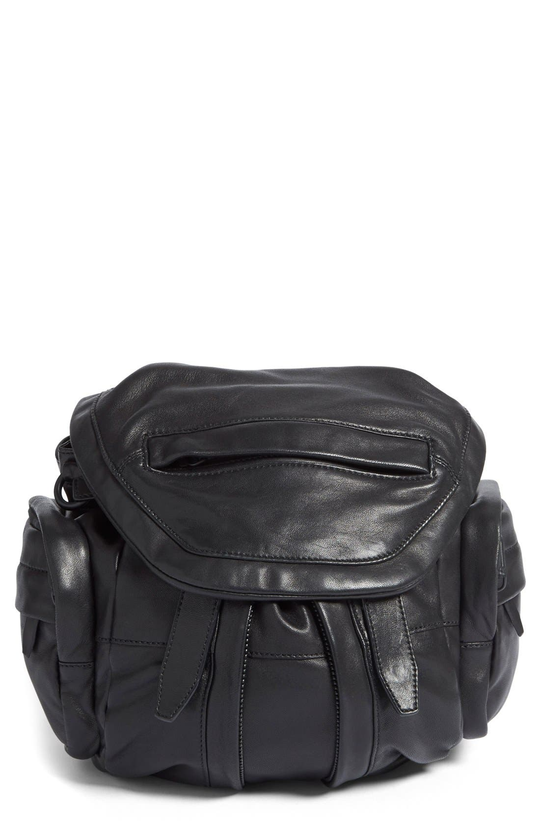 Alternate Image 1 Selected - Alexander Wang Mini Marti Leather Backpack