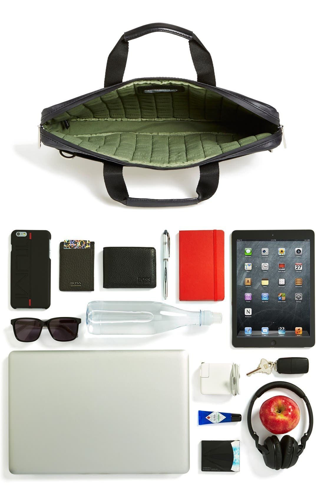 Alternate Image 5  - KNOMO London 'Lincoln' Waterproof Briefcase