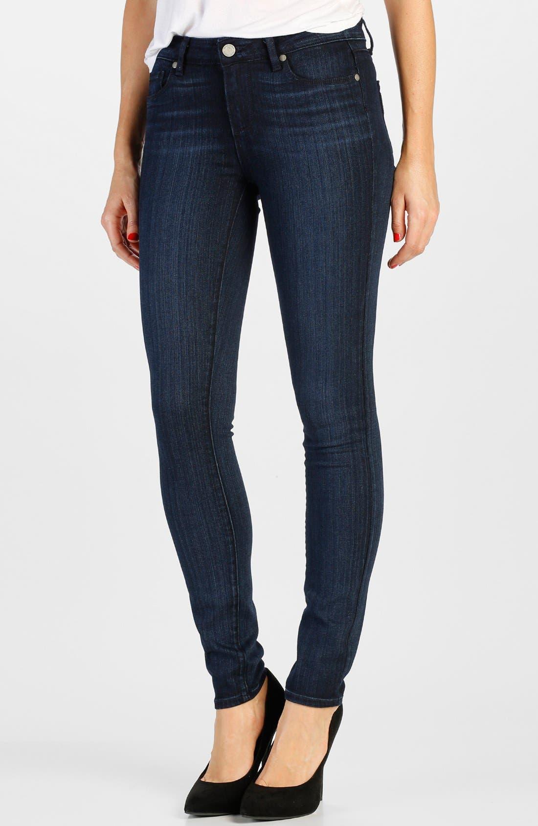 Alternate Image 1 Selected - Paige Denim 'Transcend - Verdugo' Ultra Skinny Jeans (Georgie)