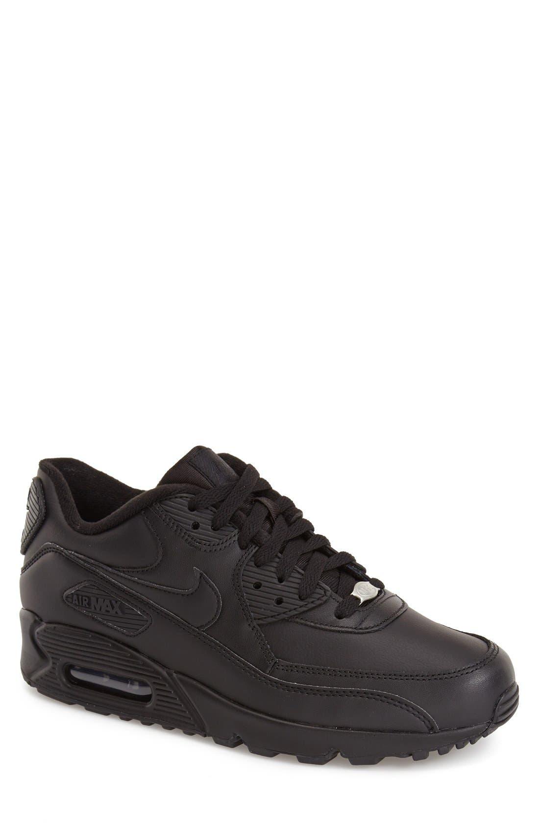 Alternate Image 1 Selected - Nike 'Air Max 90' Leather Sneaker (Men)