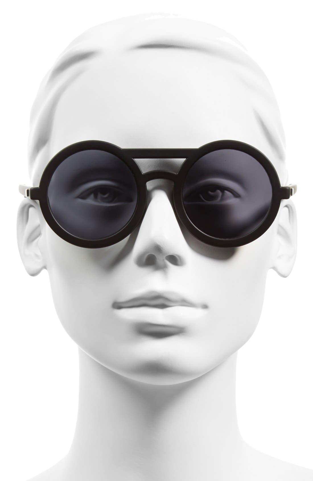 Alternate Image 2  - Le Specs 'Radio Star' 50mm Round Sunglasses