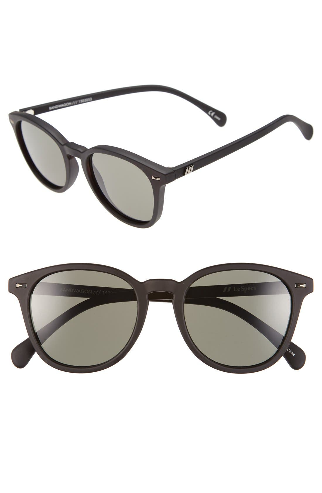 Le Specs 'Bandwagon' 51mm Sunglasses