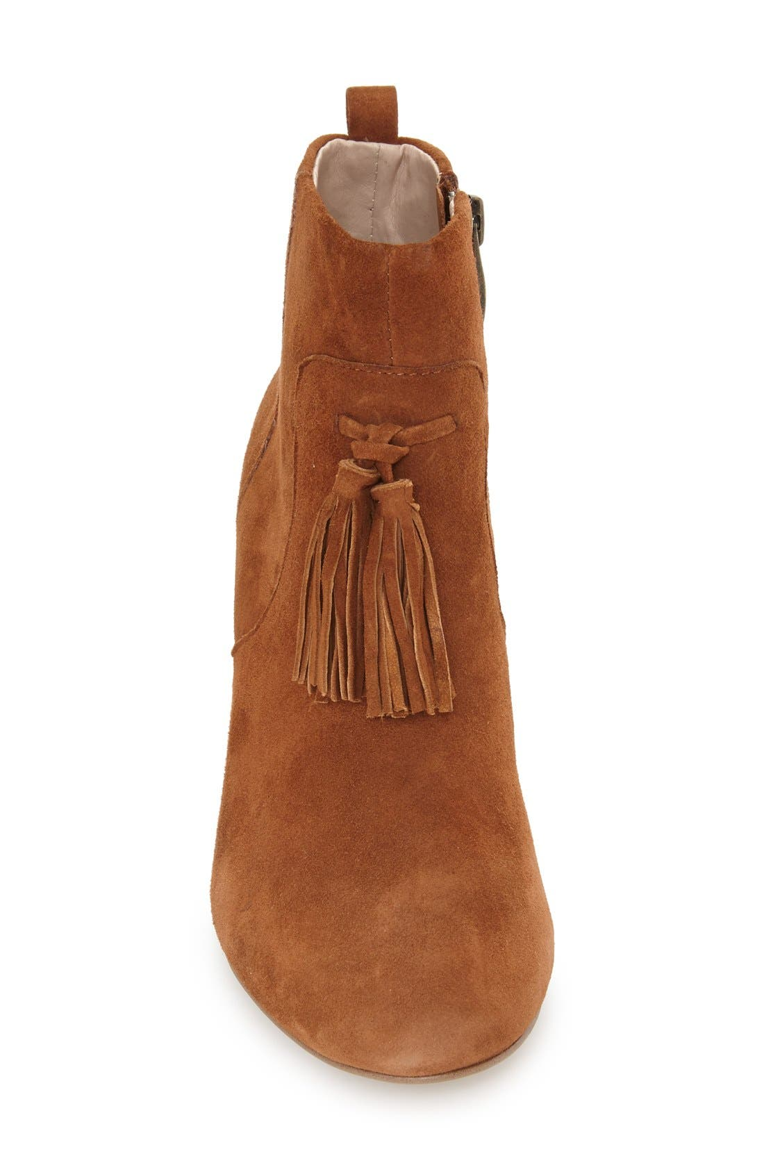 Alternate Image 3  - French Connection 'Linds' Tassel Ankle Bootie (Women)