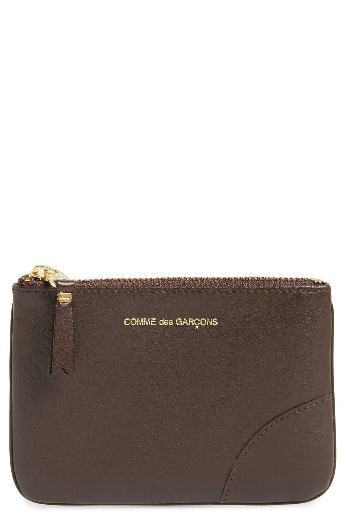 Alternate Image 1 Selected - Comme des Garçons Leather Pouch
