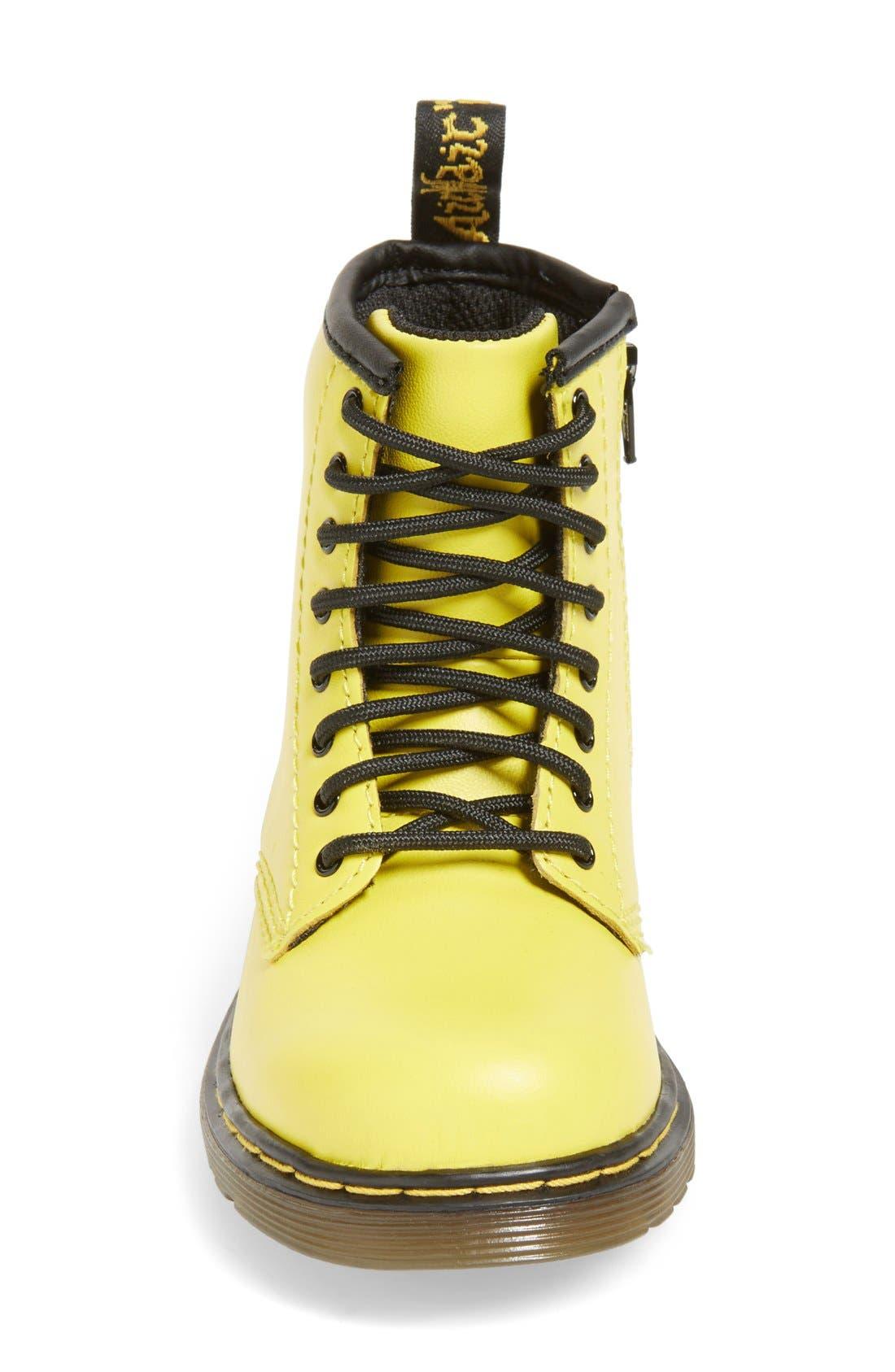 Alternate Image 3  - Dr. Martens 'Brooklee' Leather Boot (Walker & Toddler)
