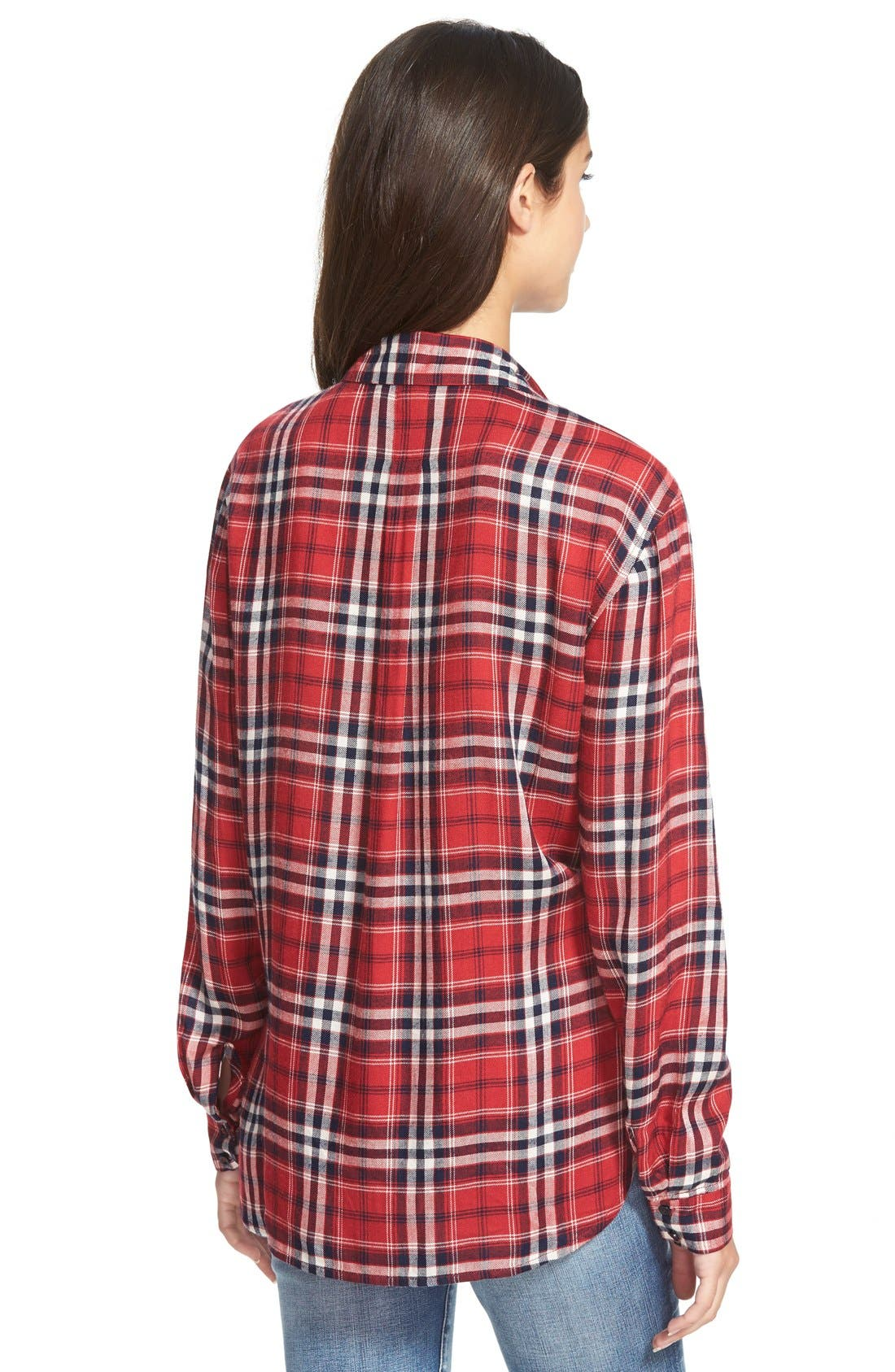 Alternate Image 2  - Ace Delivery Button Front Plaid Shirt