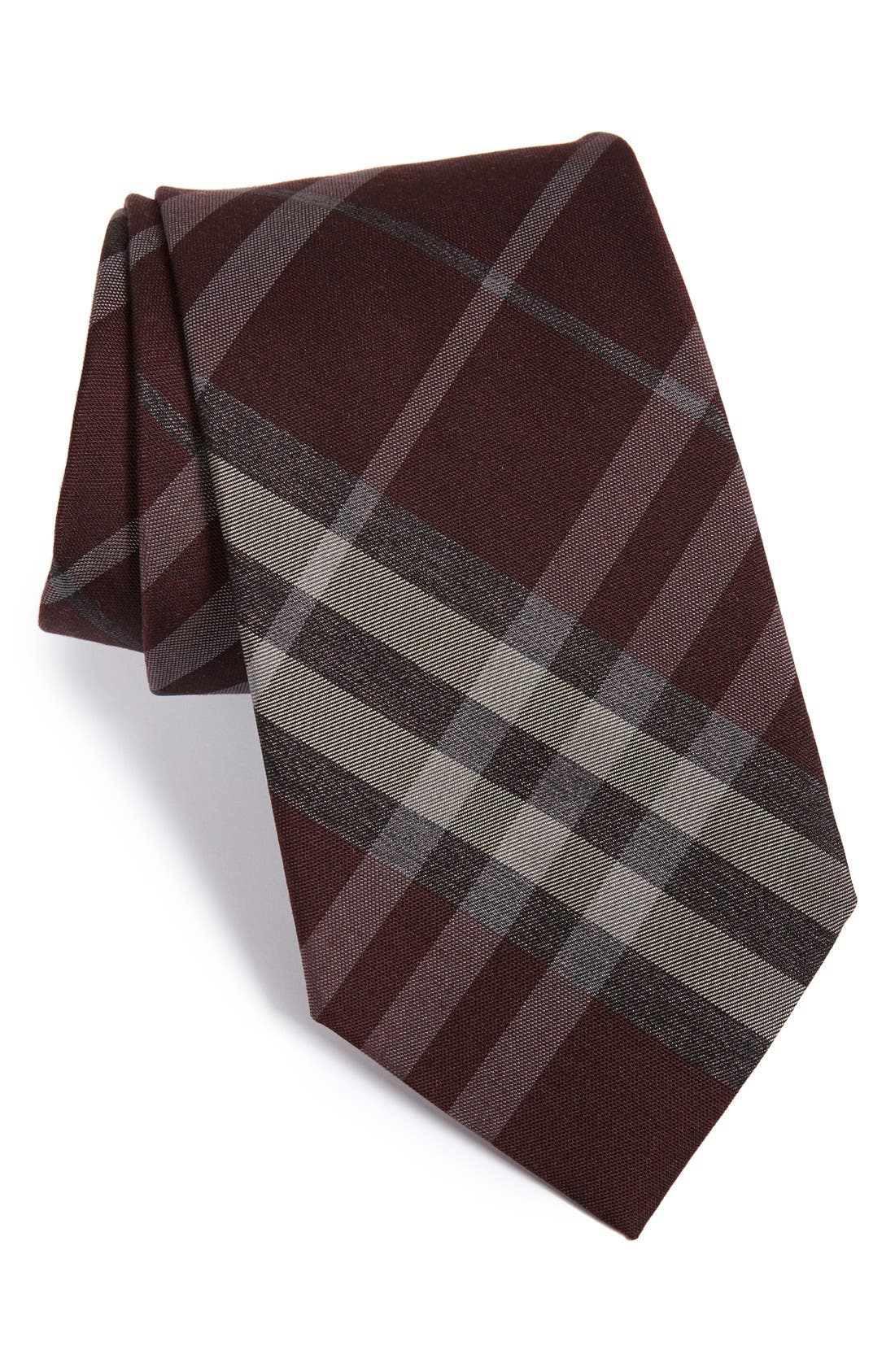 Alternate Image 1 Selected - Burberry London 'Clinton' Woven Silk & Wool Tie