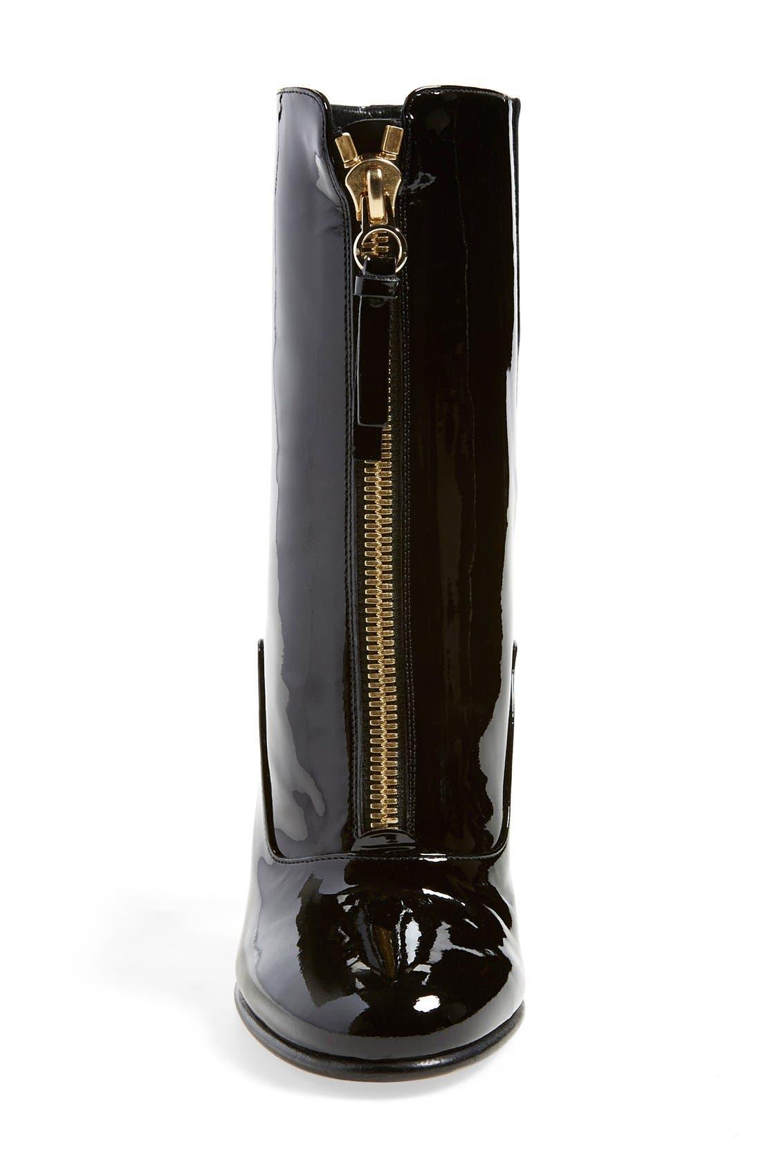 Alternate Image 3  - Valentino 'Rebelle' Round Toe Zip Bootie (Women)