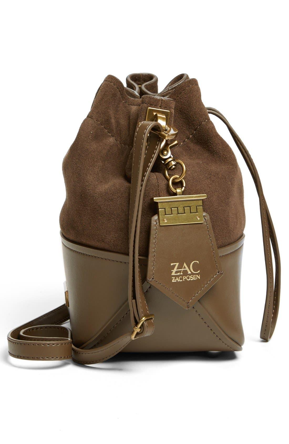 Alternate Image 5  - ZAC Zac Posen 'Mini Eartha' Calfskin Bucket Bag