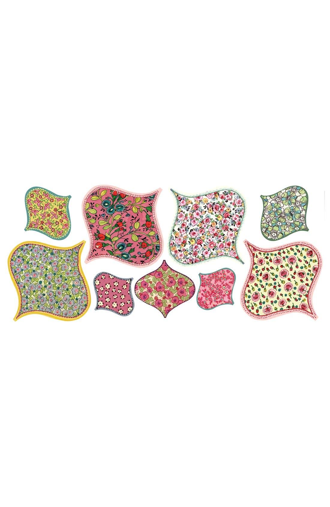 Alternate Image 3  - Wallpops 'Boho Chic' Wall Art Decal Kit (Set of 18)
