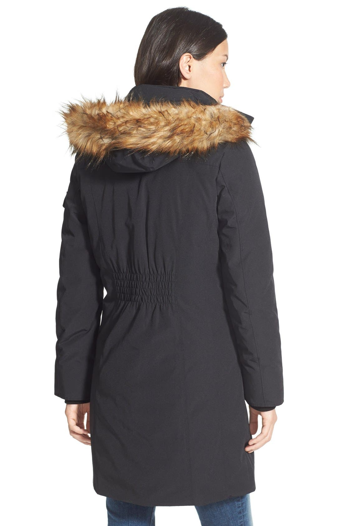 Alternate Image 2  - MICHAEL Michael Kors 'Expedition' Faux Fur Trim Down & Feather Fill Parka