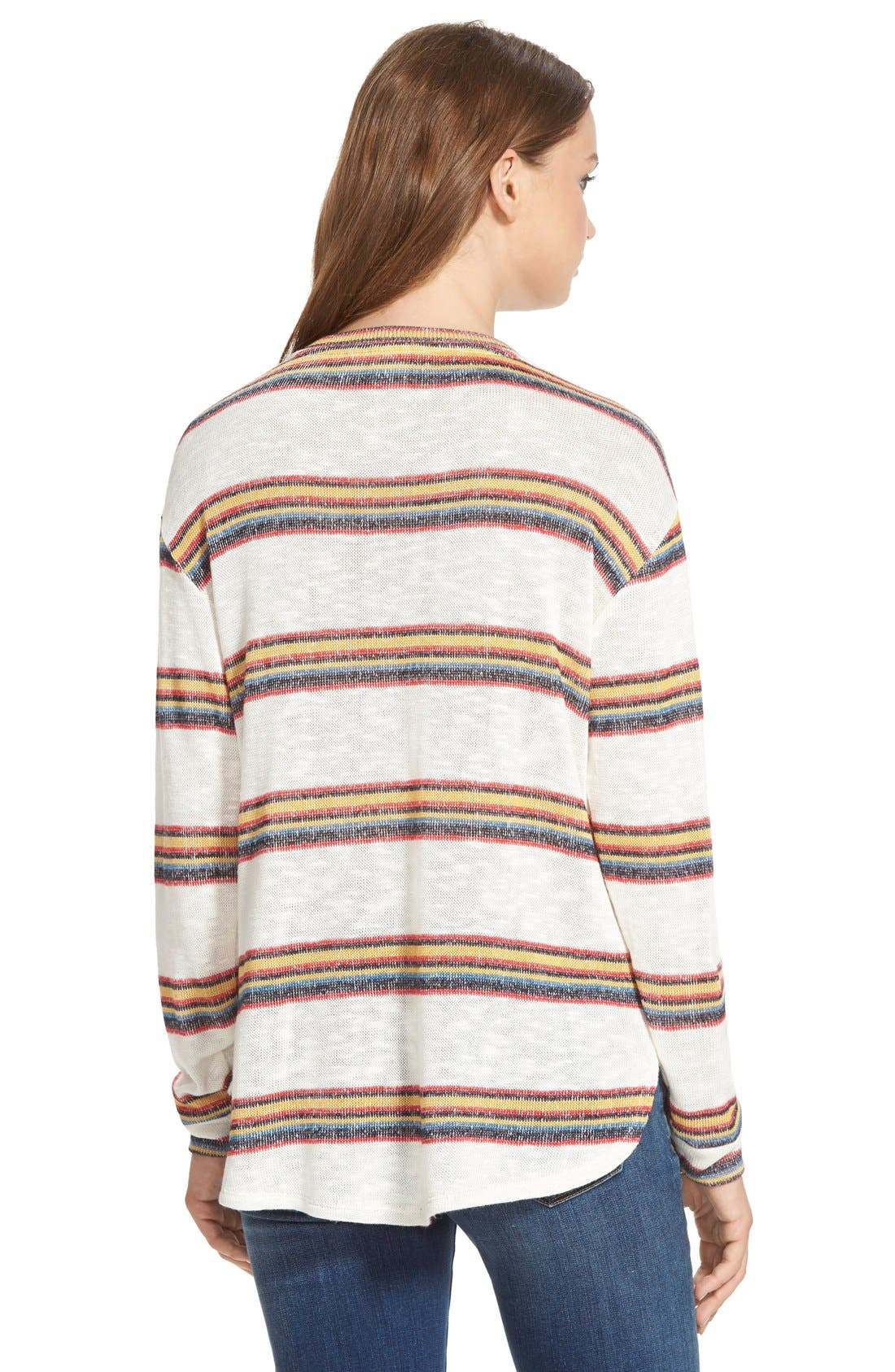 Alternate Image 3  - Ace Delivery Stripe Knit Sweater