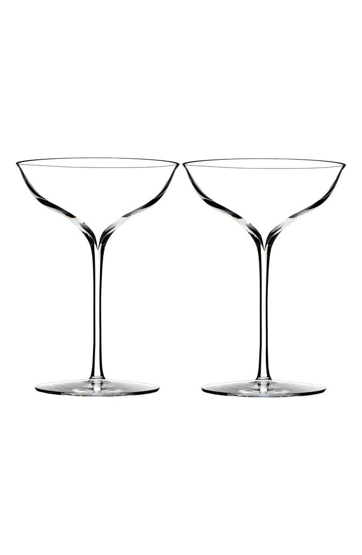 Waterford 39 elegance 39 fine crystal champagne coupe toasting glasses set of 2 nordstrom - Waterford champagne coupe ...