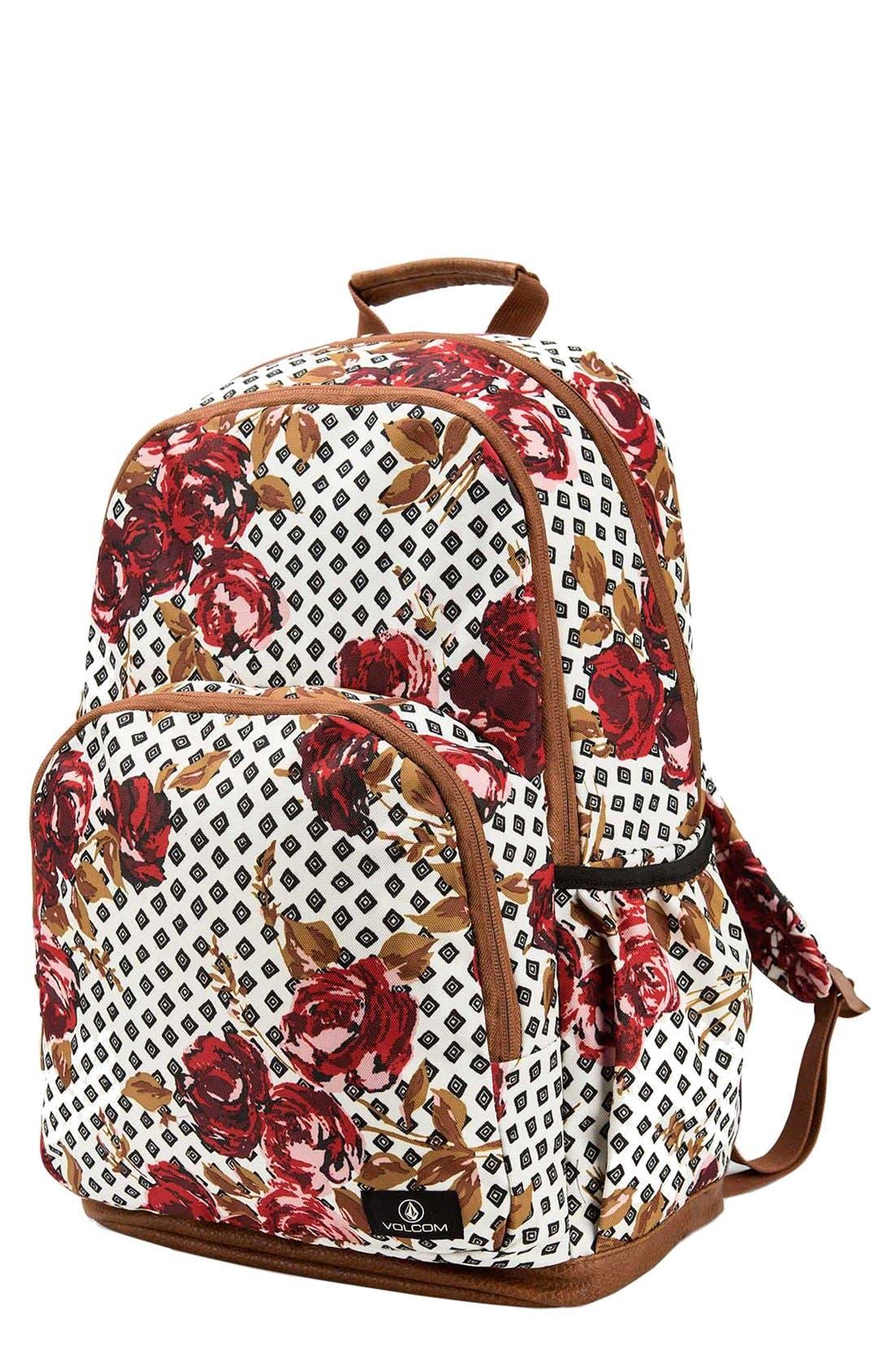 Alternate Image 1 Selected - Volcom 'Fieldtrip' Print Backpack