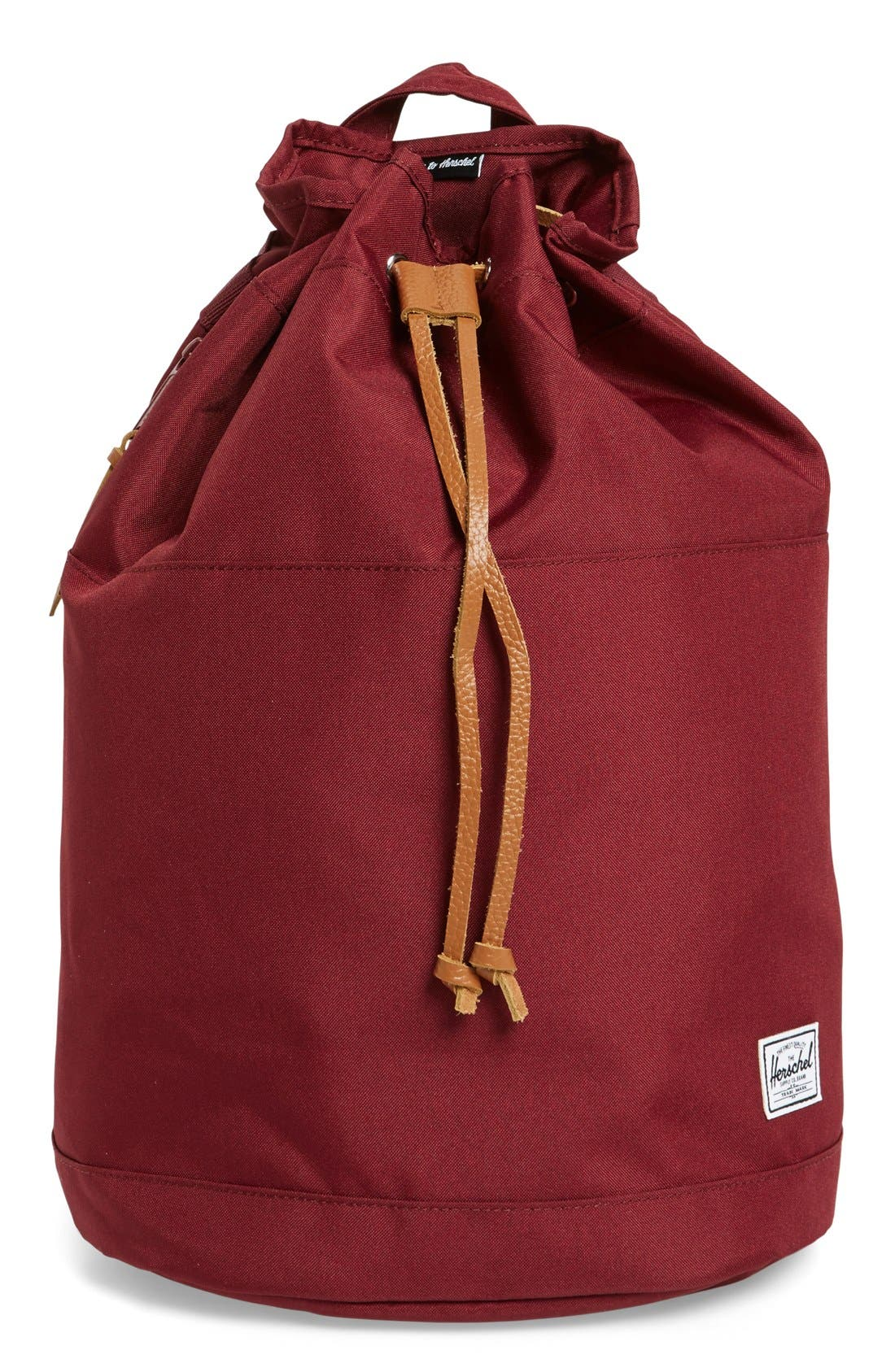 Alternate Image 1 Selected - Herschel Supply Co. 'Hanson' Canvas Backpack