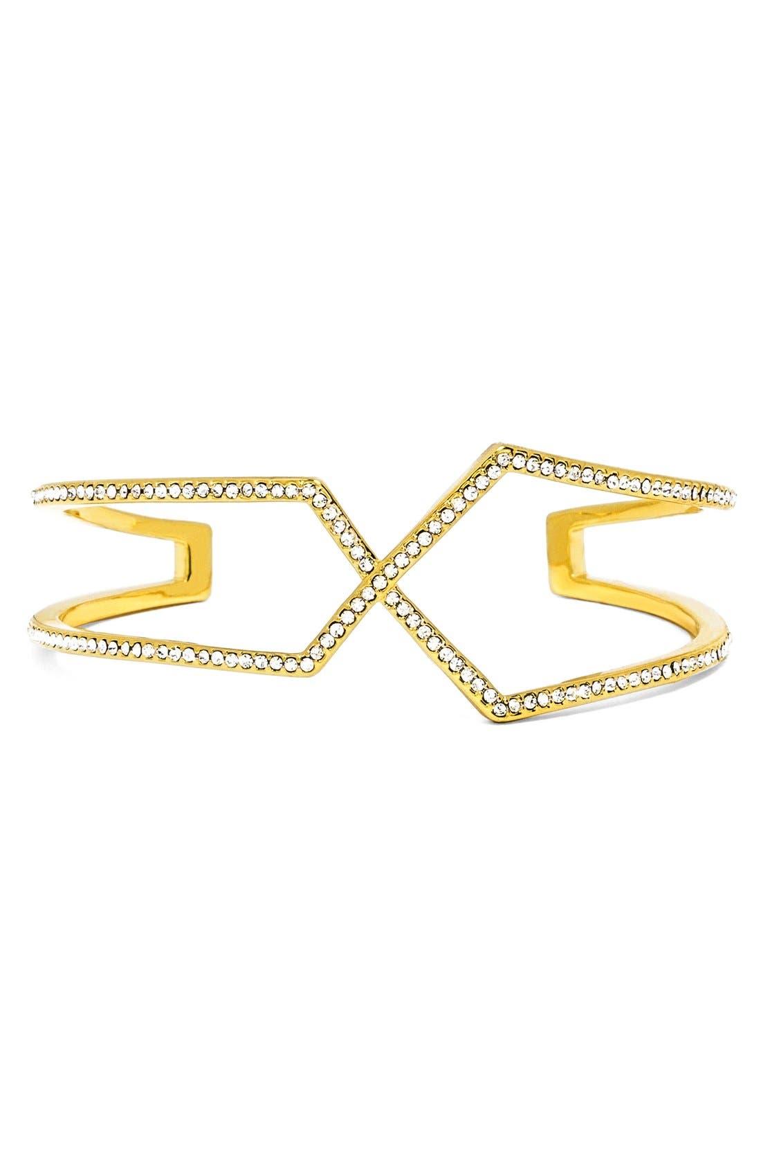 Main Image - BaubleBar'Siphon' Cuff Bracelet