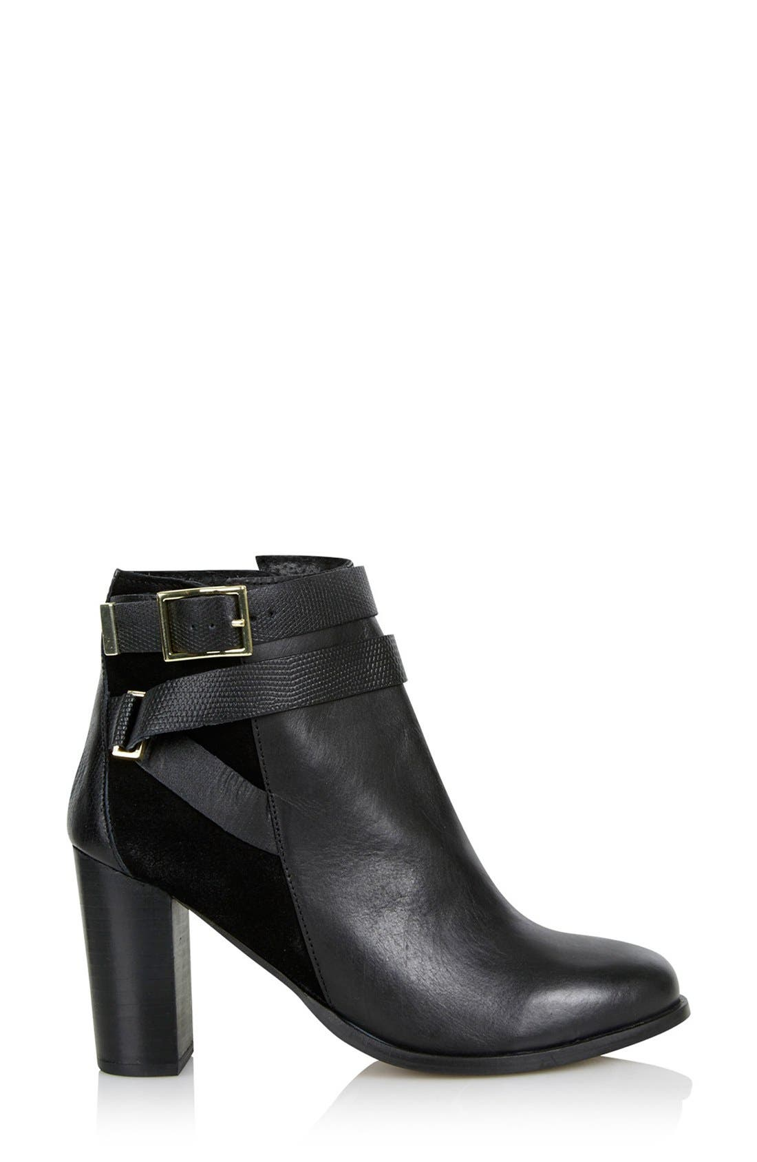 Alternate Image 2  - Topshop 'Harper Buckle' Ankle Boot (Women)