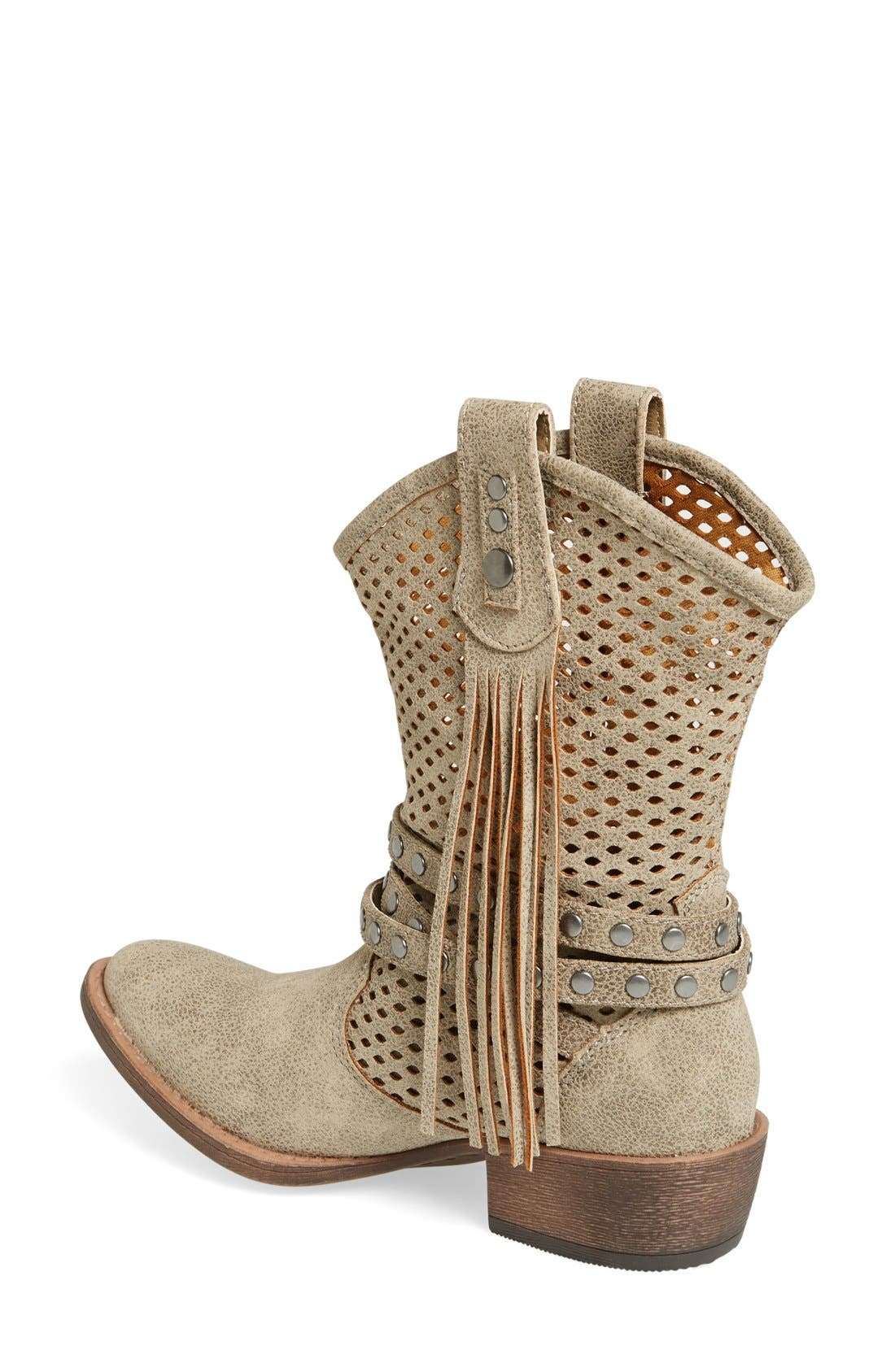 Alternate Image 2  - Coconuts by Matisse 'Rawhide' Slouchy Western Boot (Women)