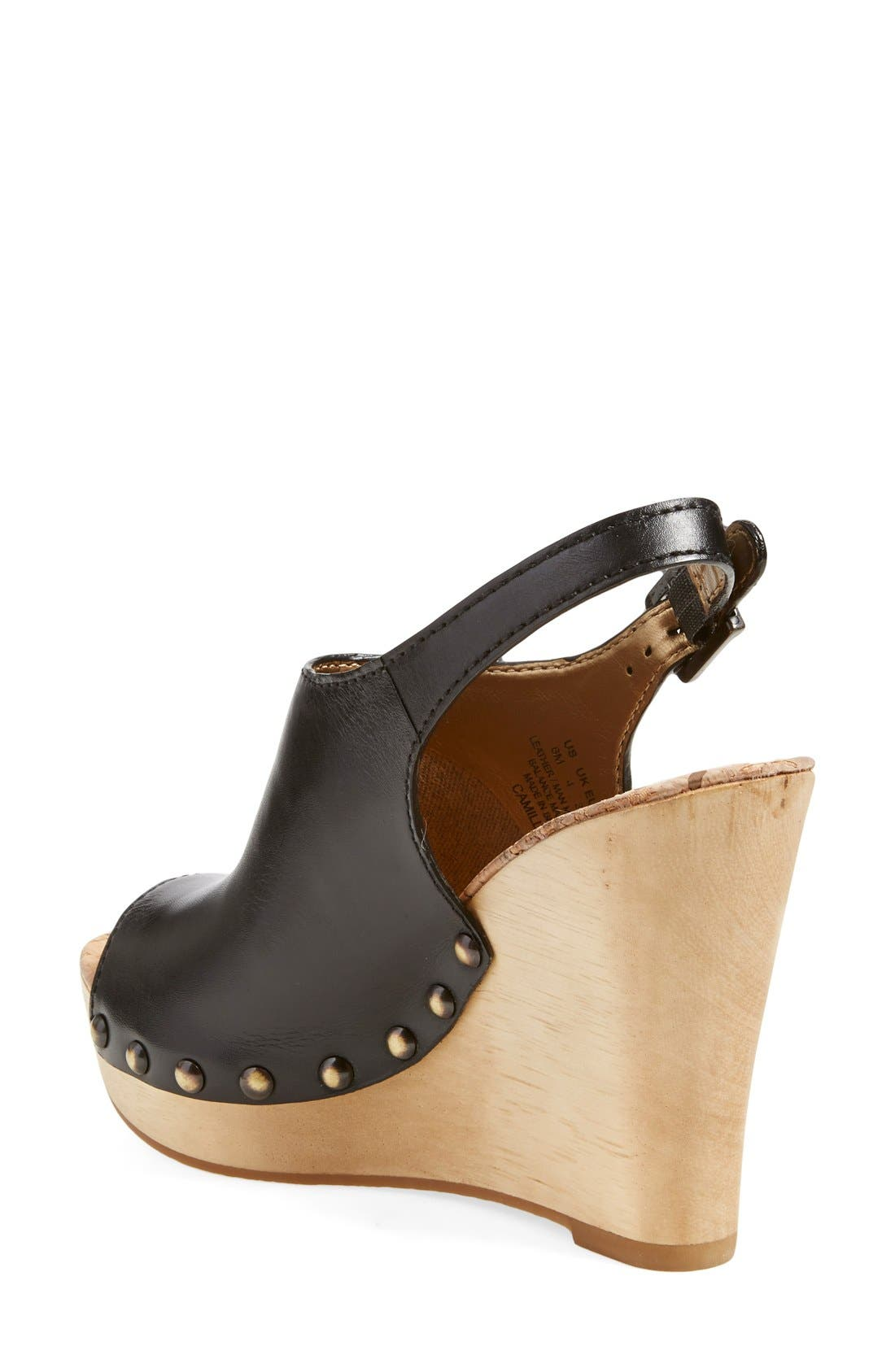 Alternate Image 2  - Sam Edelman'Camilla' Wedge Sandal (Women)