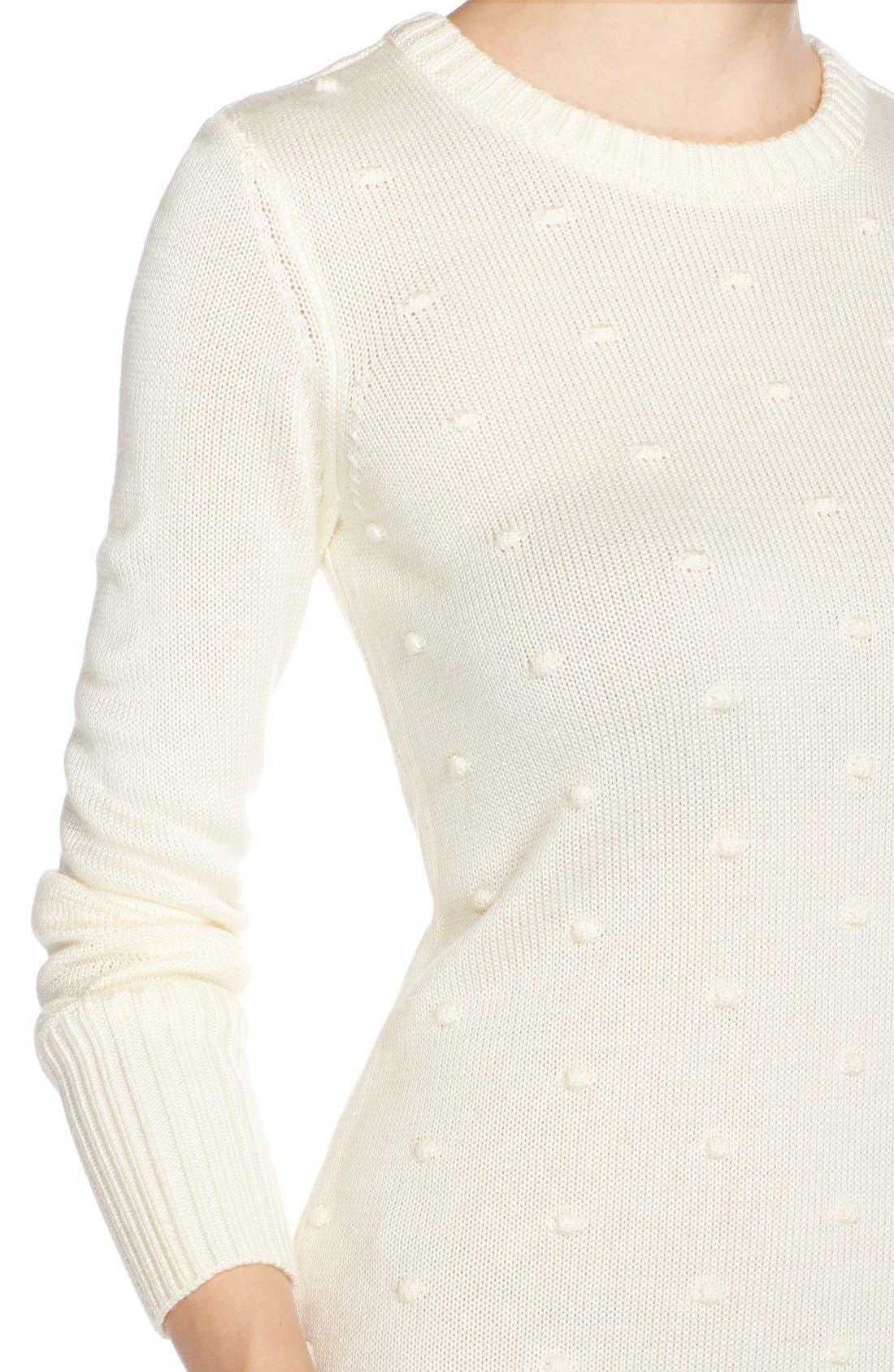Alternate Image 5  - Eliza J NubbyKnit Shift Sweater Dress
