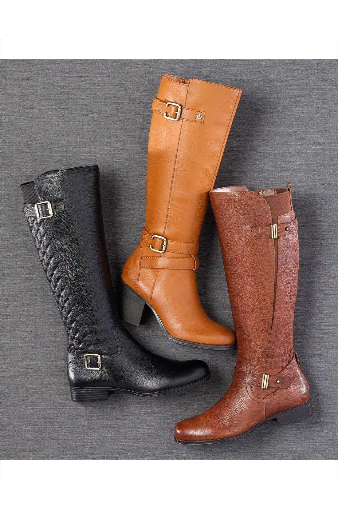 Alternate Image 5  - Naturalizer 'Joan' Riding Boot (Women) (Wide Calf)