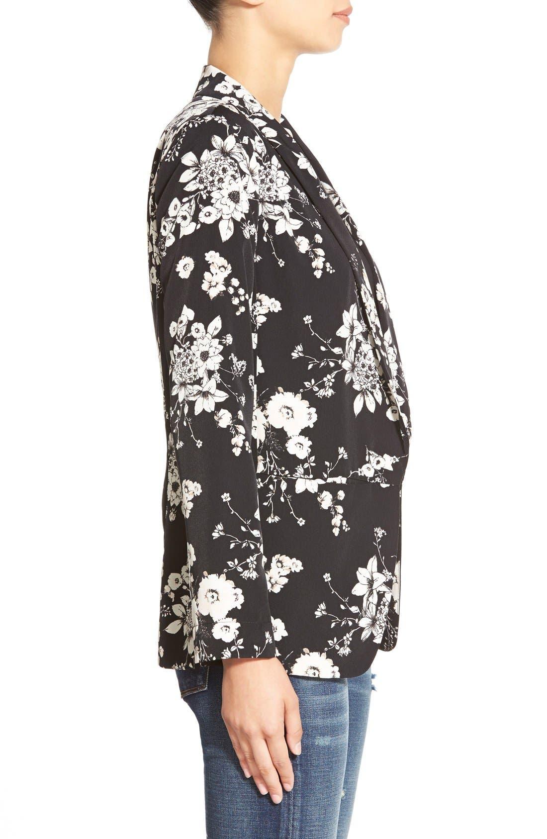 Alternate Image 3  - ASTR Floral Print Blazer