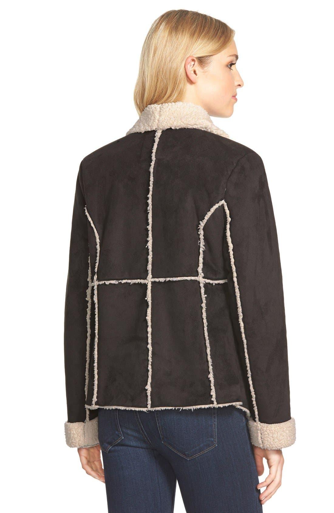 Alternate Image 2  - Dylan Faux Shearling Jacket