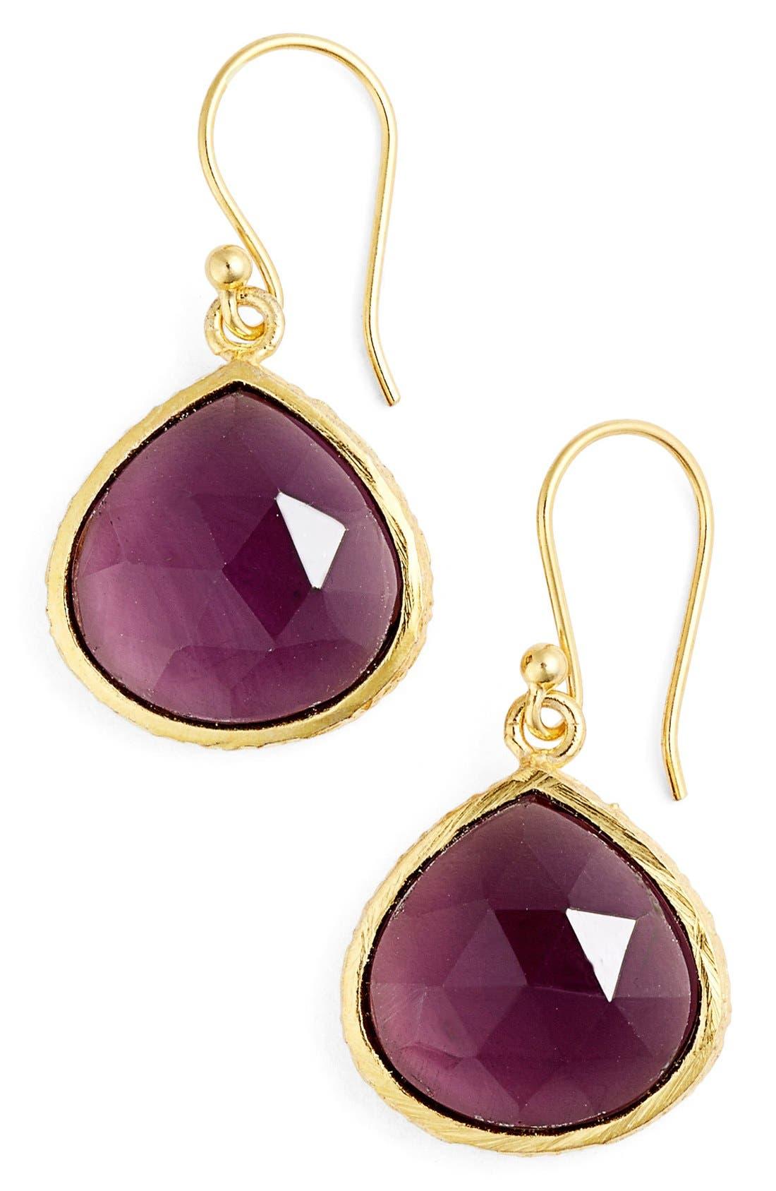 Alternate Image 1 Selected - sonyarenee 'Nicole'Semiprecious Stone Drop Earrings