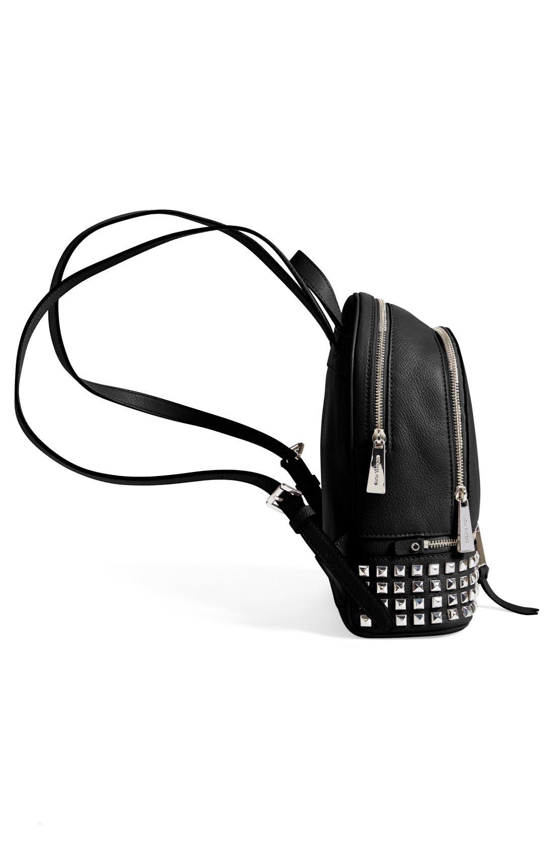 Alternate Image 5  - MICHAEL Michael Kors 'Small Rhea Zip' Studded Backpack