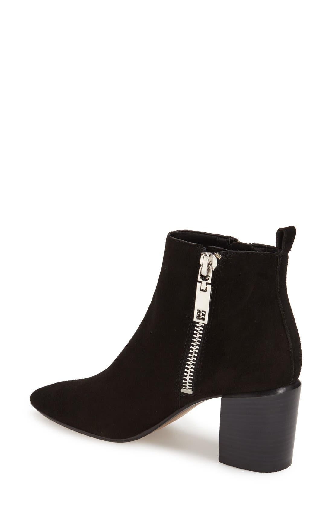 Alternate Image 2  - Dolce Vita 'Ginnee' Pointy Toe Ankle Bootie (Women)