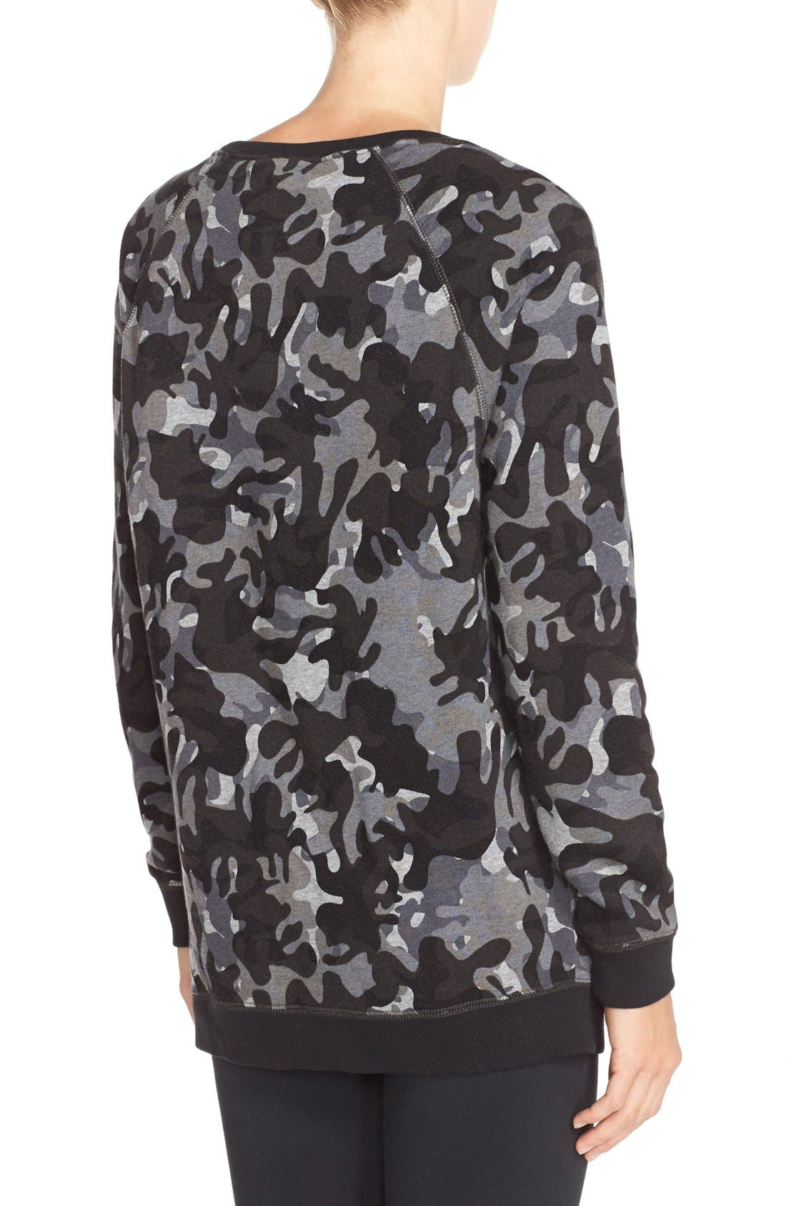 Alternate Image 2  - Nike 'Rally AOP' Cotton Blend Pullover