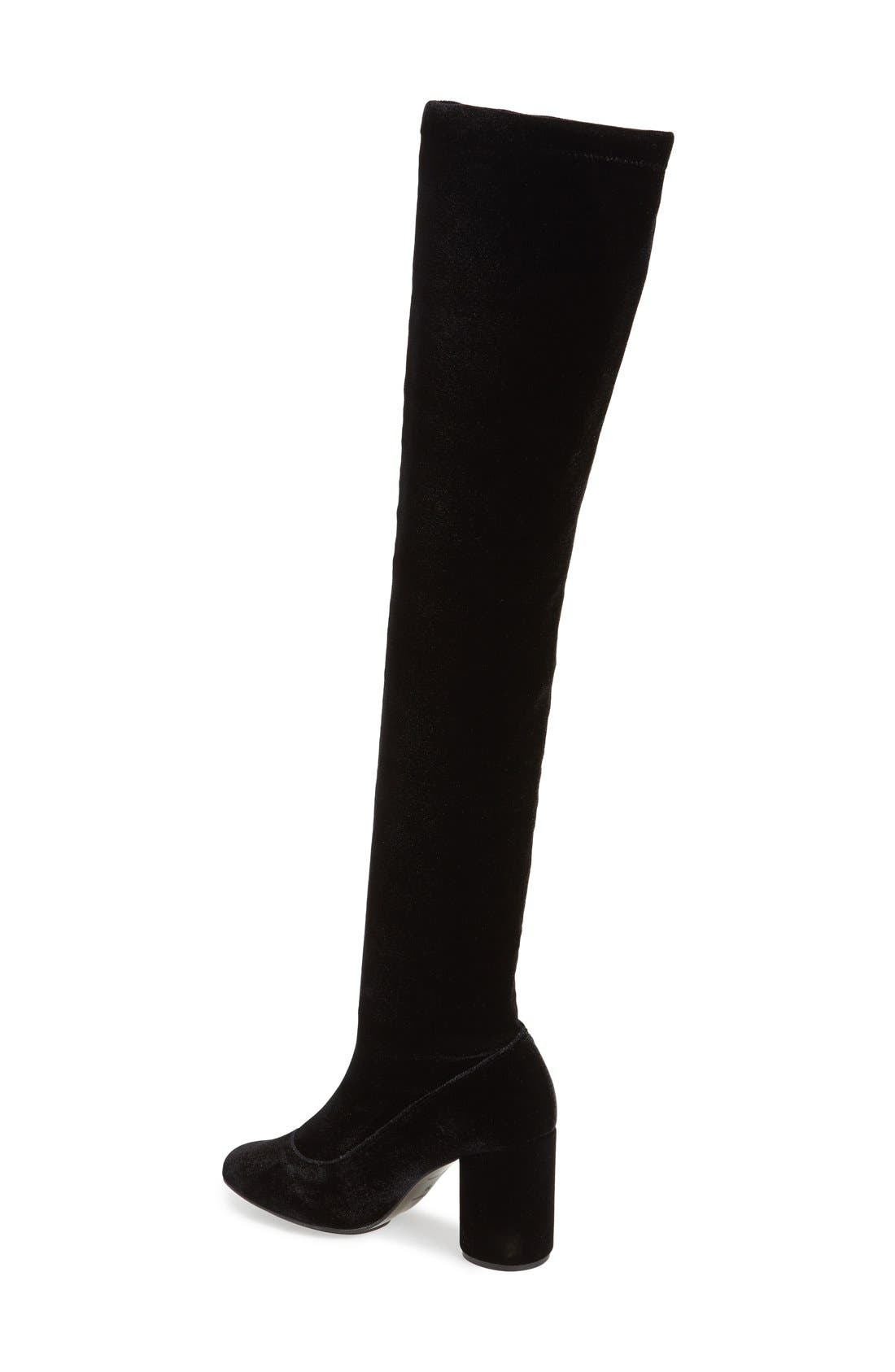 Alternate Image 2  - Topshop'Private' Over the Knee Boot (Women)