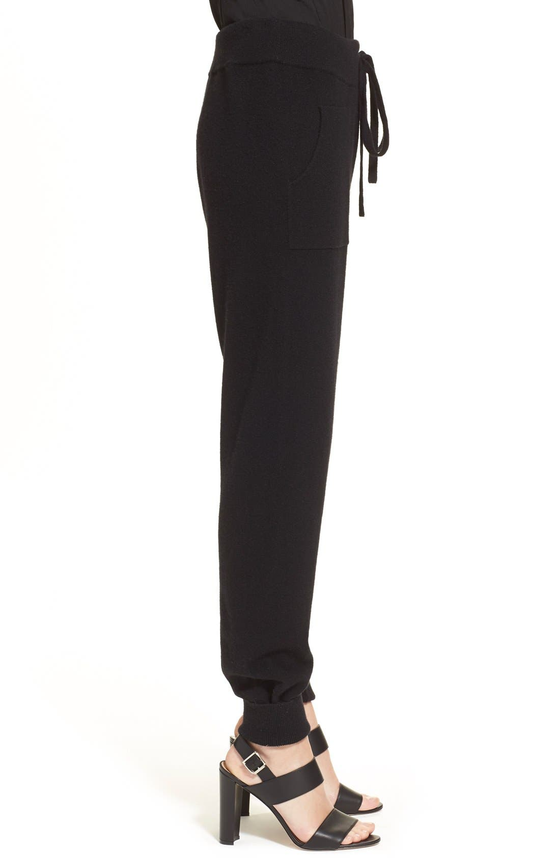 Alternate Image 5  - Donna Karan Collection Midweight Rib Jogger Pants