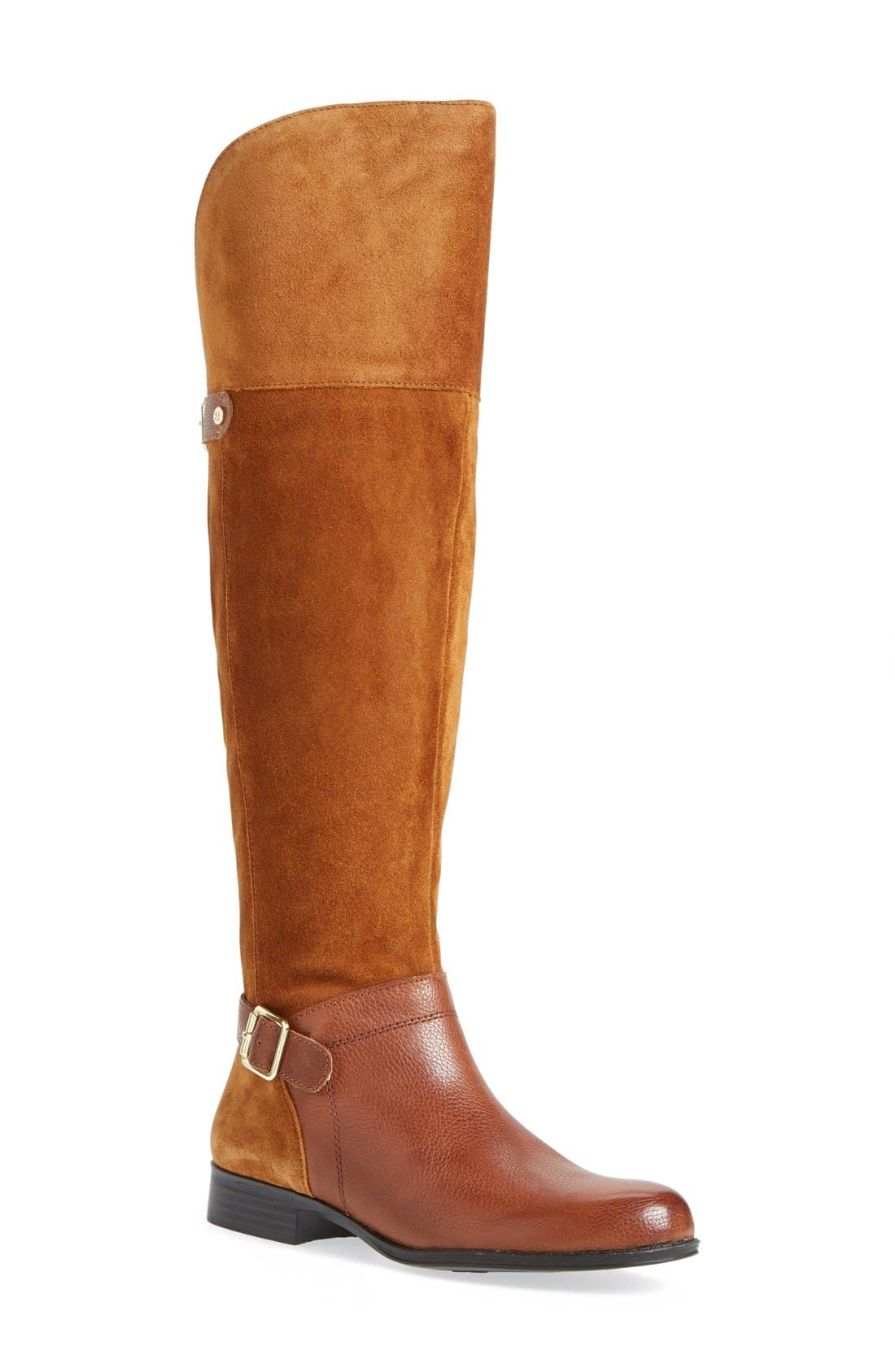 Alternate Image 1 Selected - Naturalizer'July' Over the Knee Boot (Women) (Wide Calf)