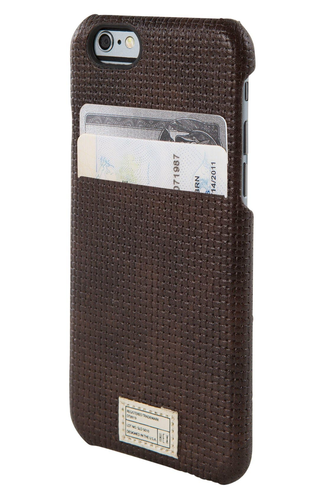 Main Image - HEX Solo iPhone 6/6s Wallet Case