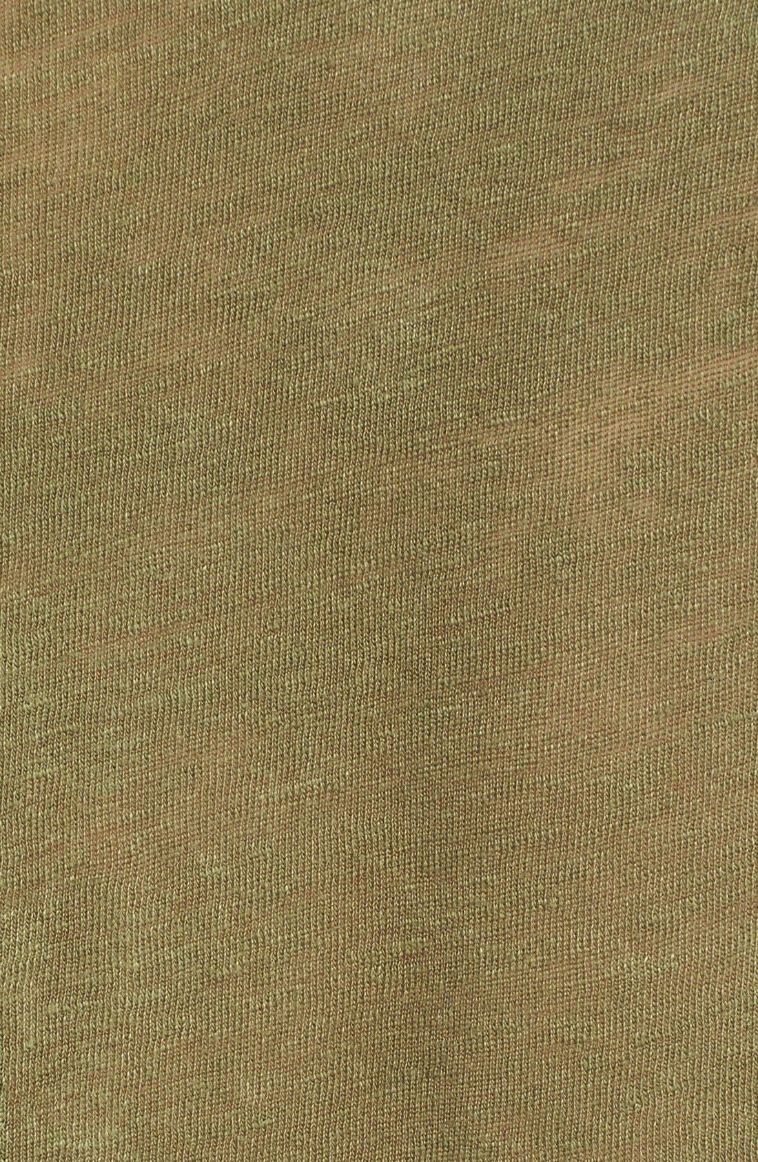 Alternate Image 5  - FRAME 'Le Henley' Linen Tee