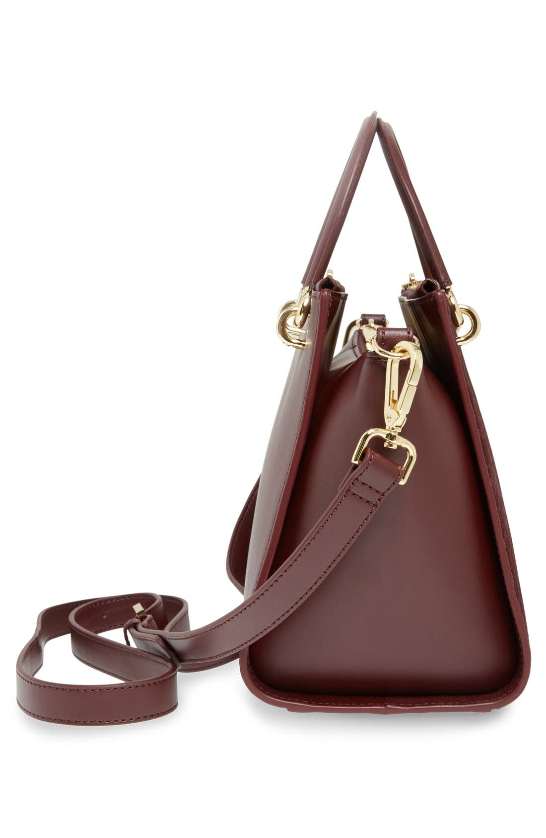 Alternate Image 5  - Ted Baker London 'Haylie' Leather & Genuine Calf Hair Crossbody Tote Bag