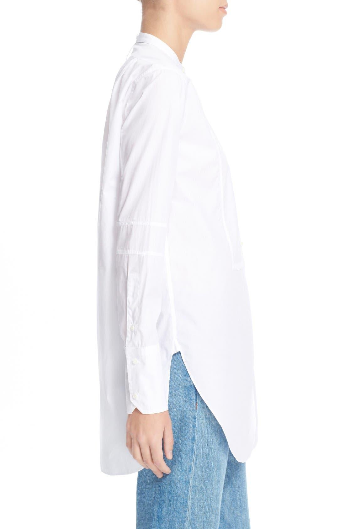 Alternate Image 3  - HelmutLang Poplin Tuxedo Shirt