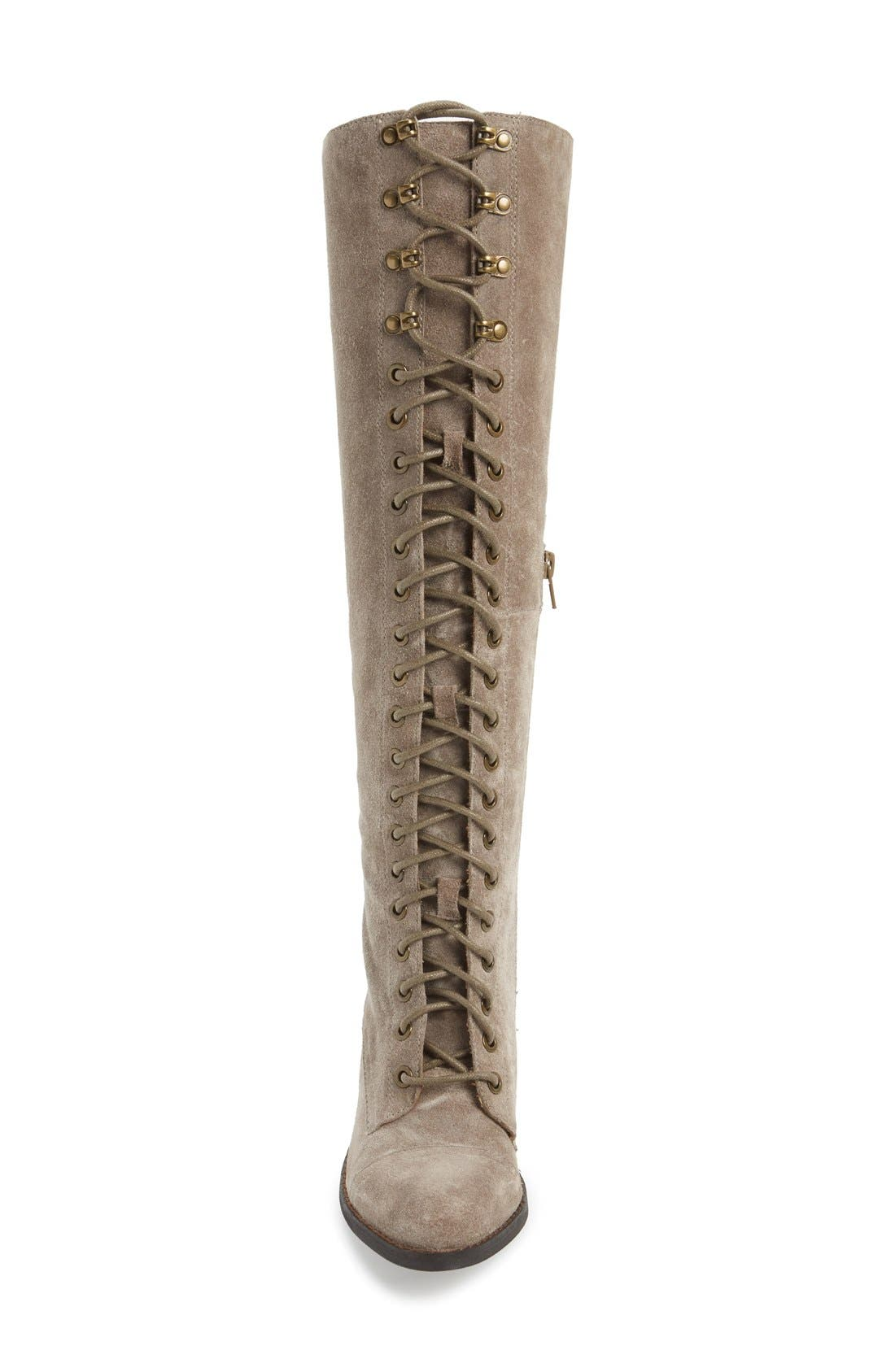 Alternate Image 3  - Jeffrey Campbell 'Kandace' Lace-Up Tall Boot (Women)