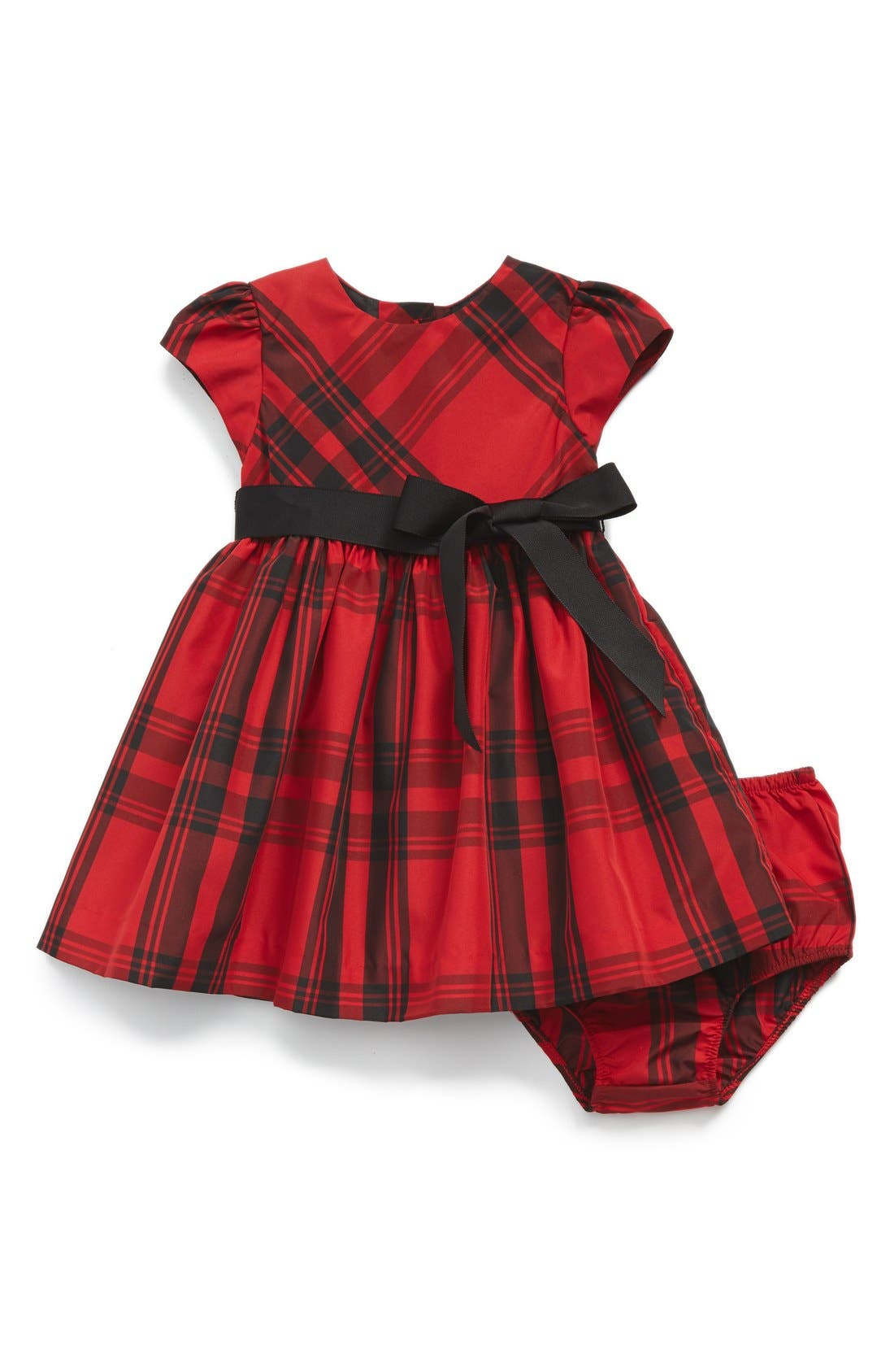 Ralph Lauren Plaid Taffeta Dress Baby Girls