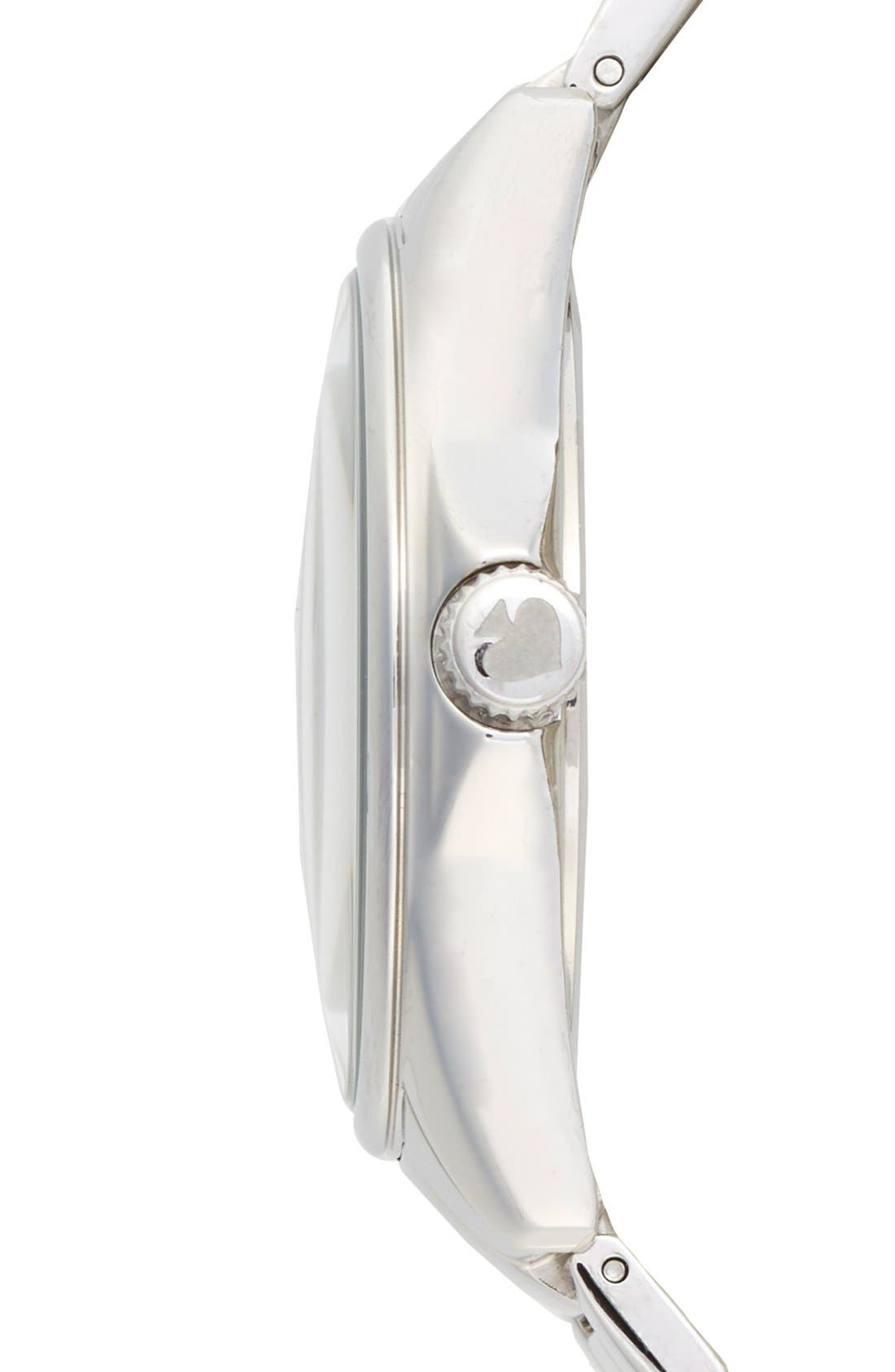 Alternate Image 3  - kate spade new york 'seaport grand' bracelet watch, 38mm