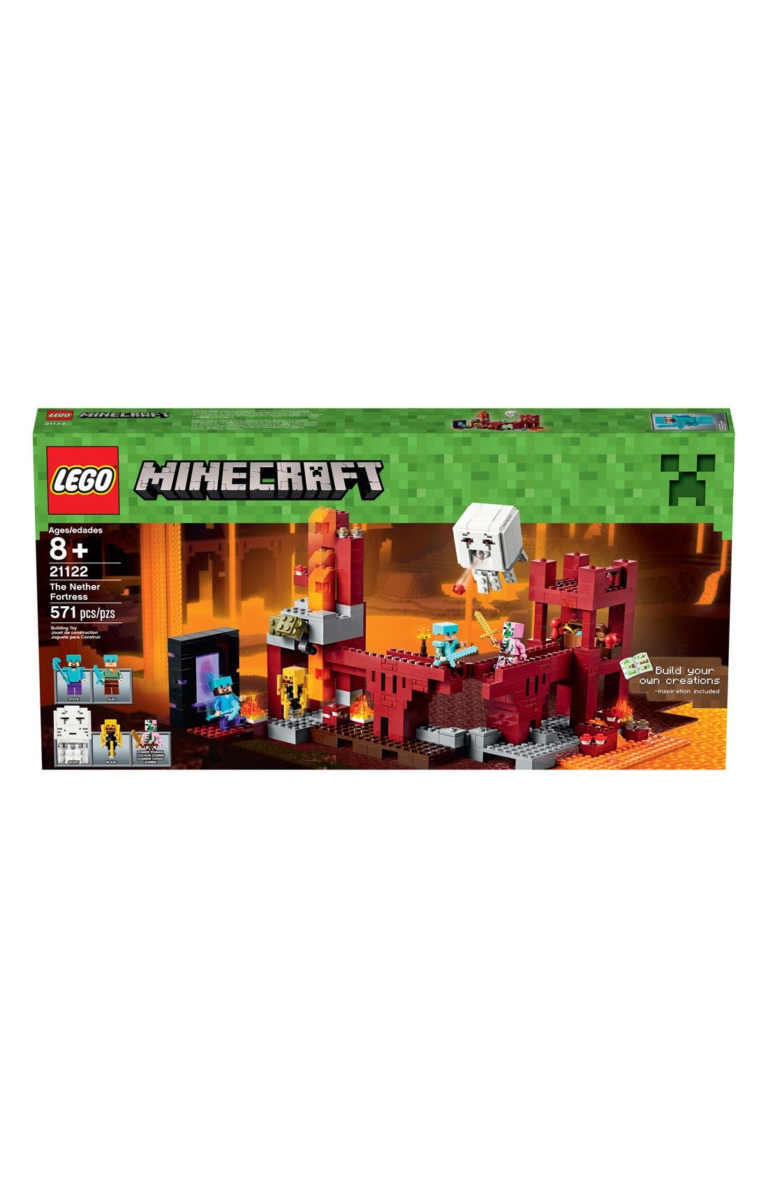 LEGO® Minecraft™ The Nether Fortress - 21122