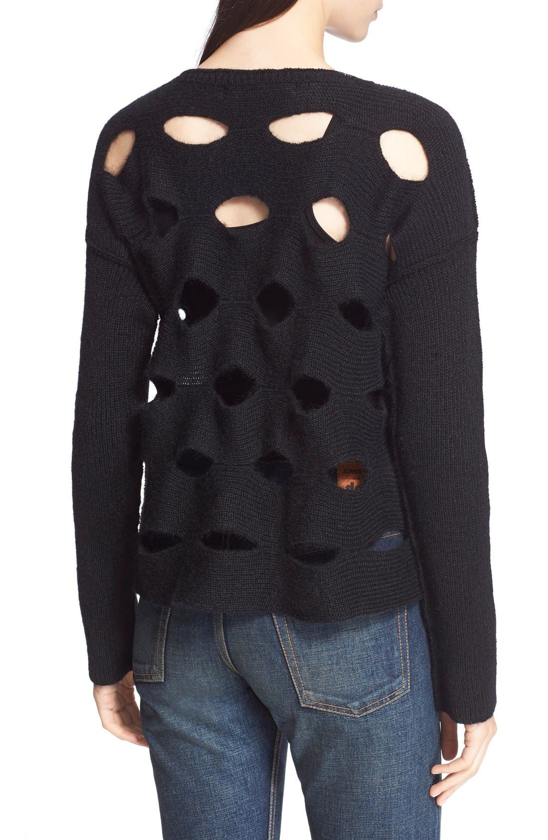 Alternate Image 2  - Junya Watanabe Cutout Sweater