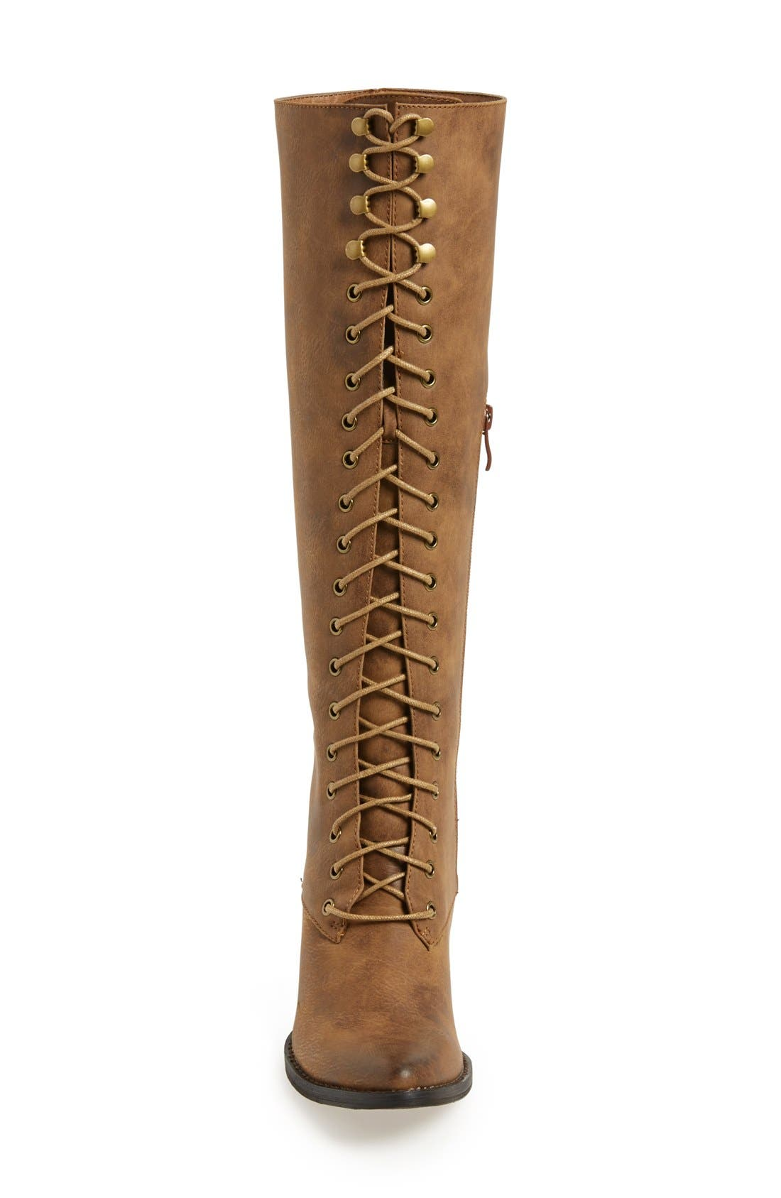 Alternate Image 3  - Very Volatile 'Clementine' Lace-Up Boot (Women)